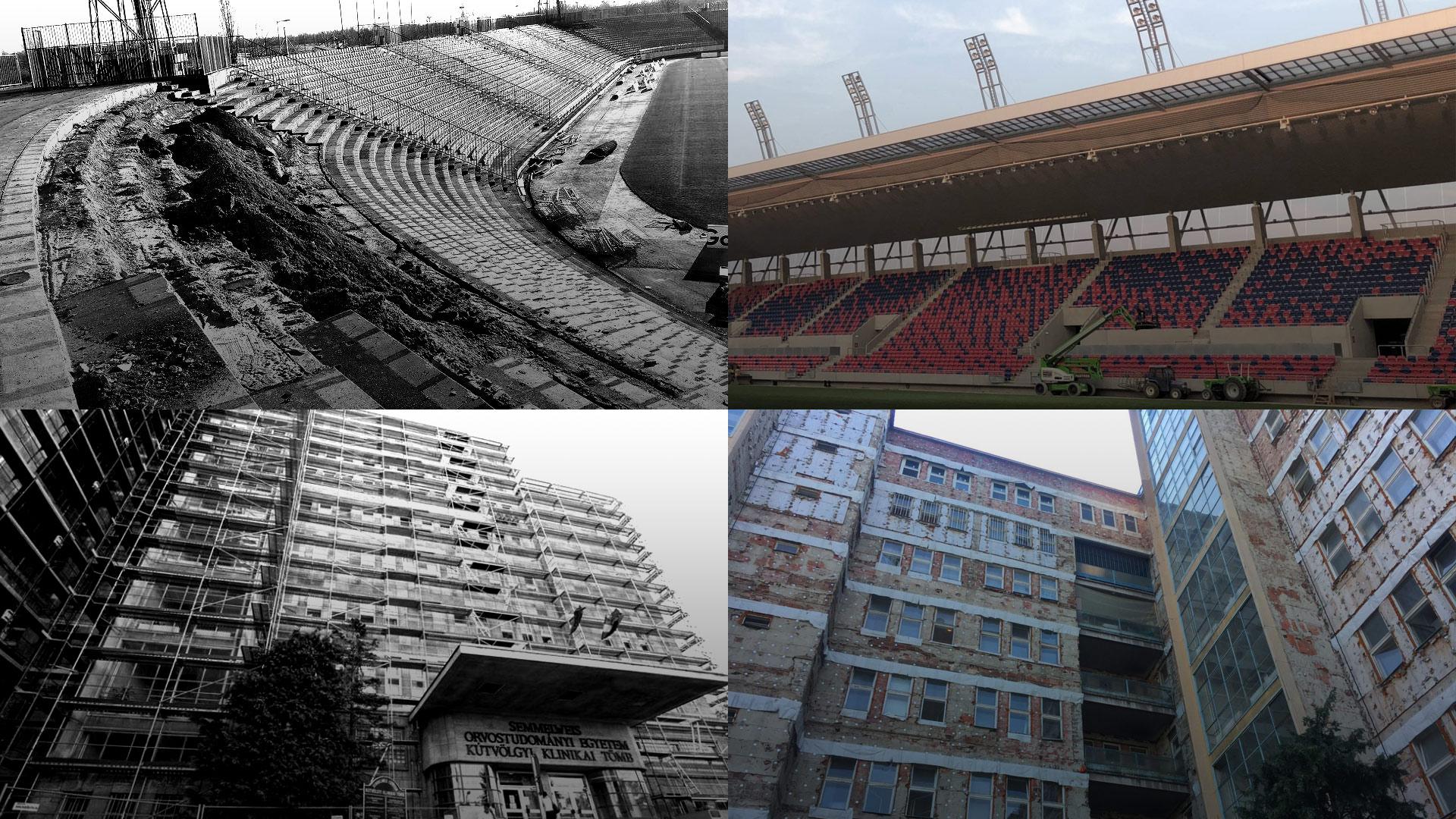 A Kútvölgyin ablakokat sem tudtak cserélni annyi idő alatt, amíg simán ledózerolták és felépítették Orbán kedvenc csapatának stadionját