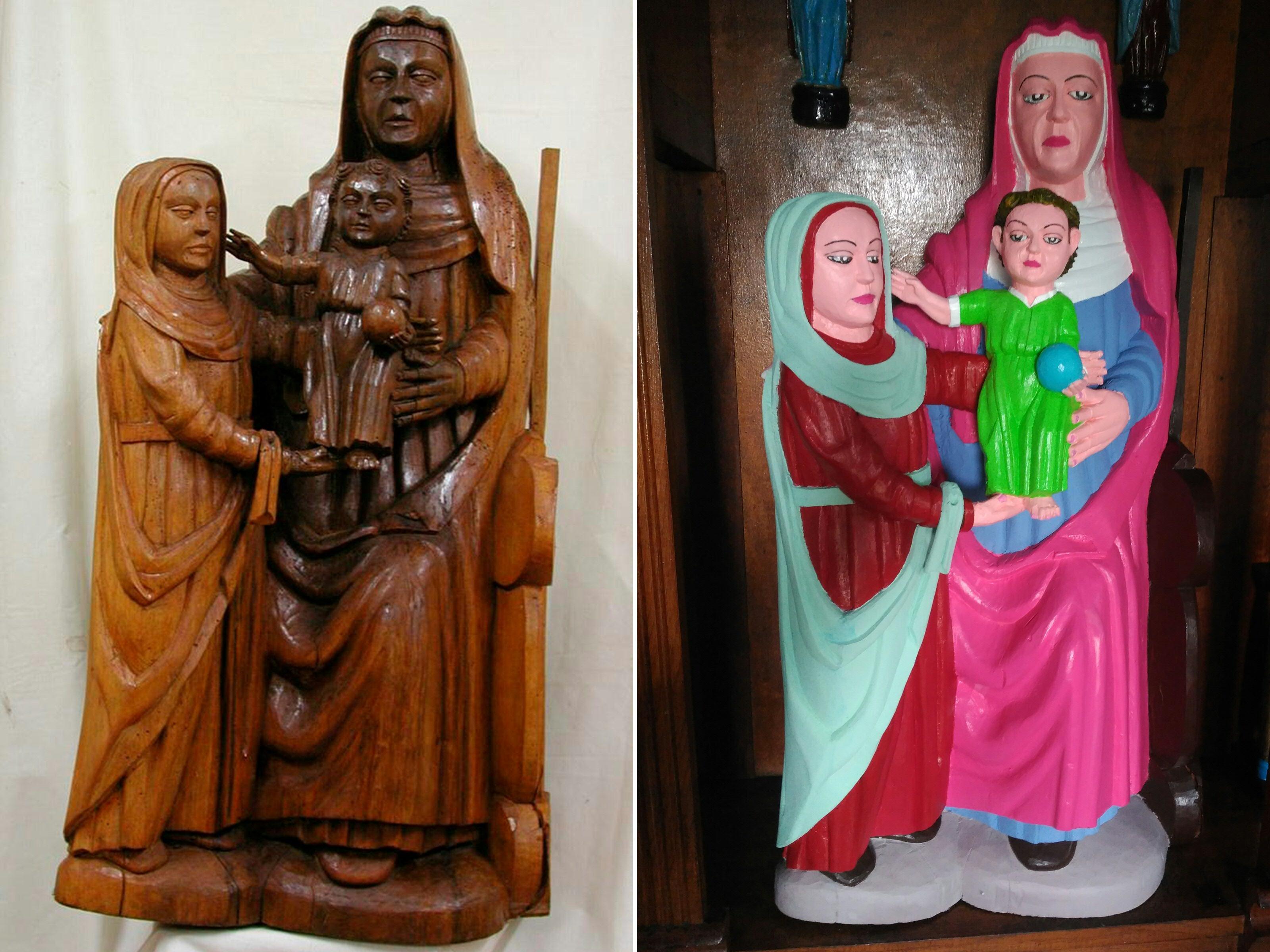 Egy helyi asszonyra bízták a XV. századi Jézus-szobor restaurálást a spanyol faluban, és pont az történt, amire számítani lehetett