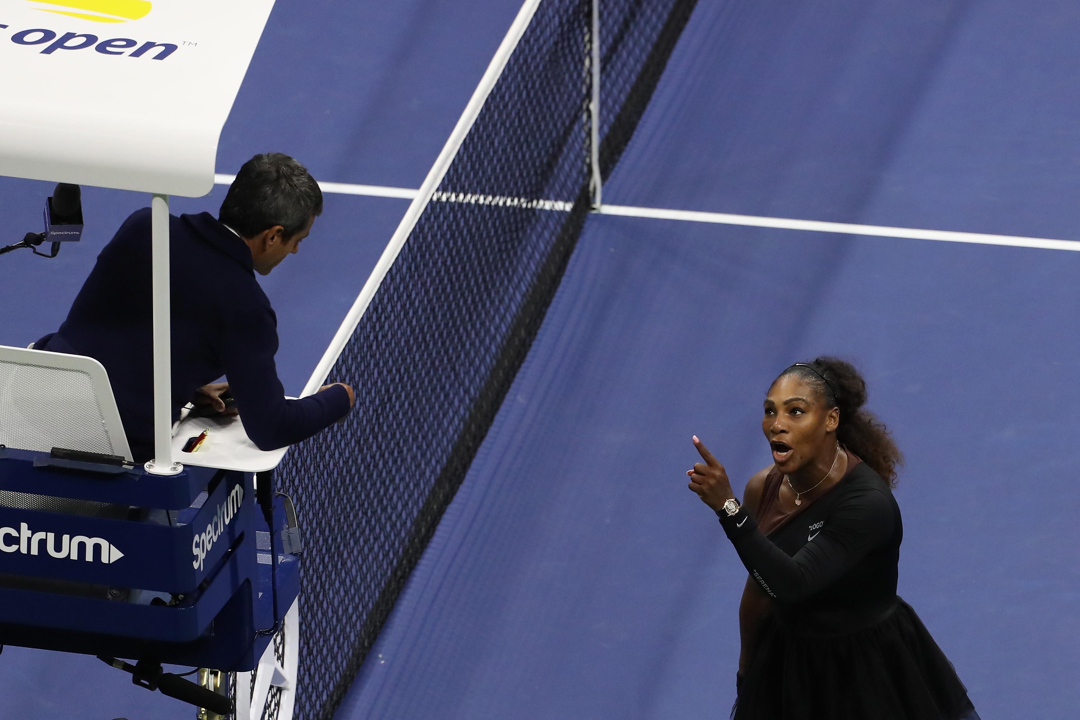 Hazug tolvaj - kiabálta Serena Williams a bírónak a US Open döntőjében