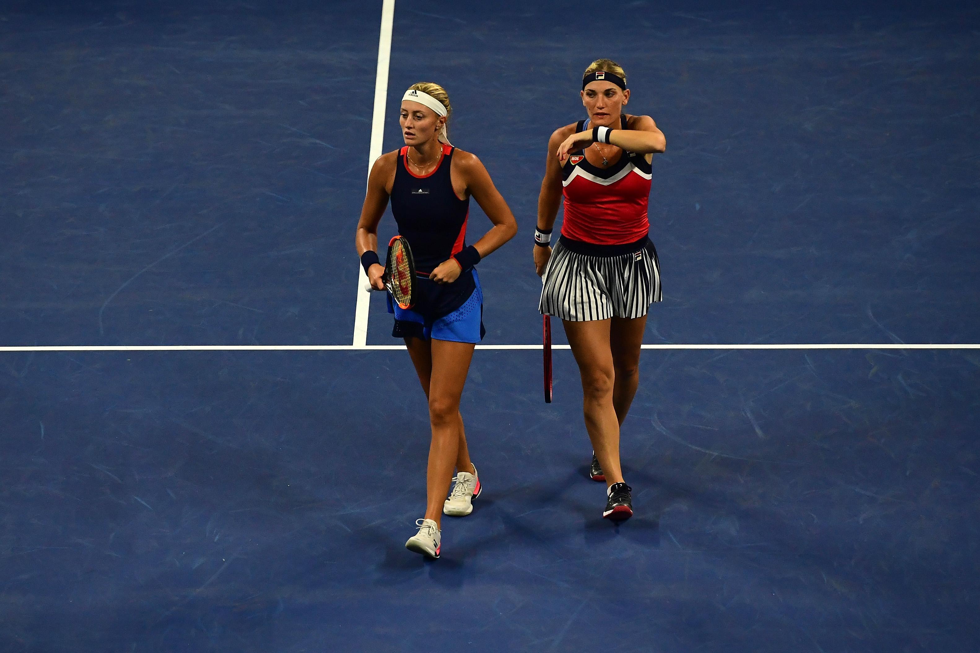 Babos Tímea és Kristina Mladenovic hatalmasat küzdött, de kikapott a US Open döntőjében