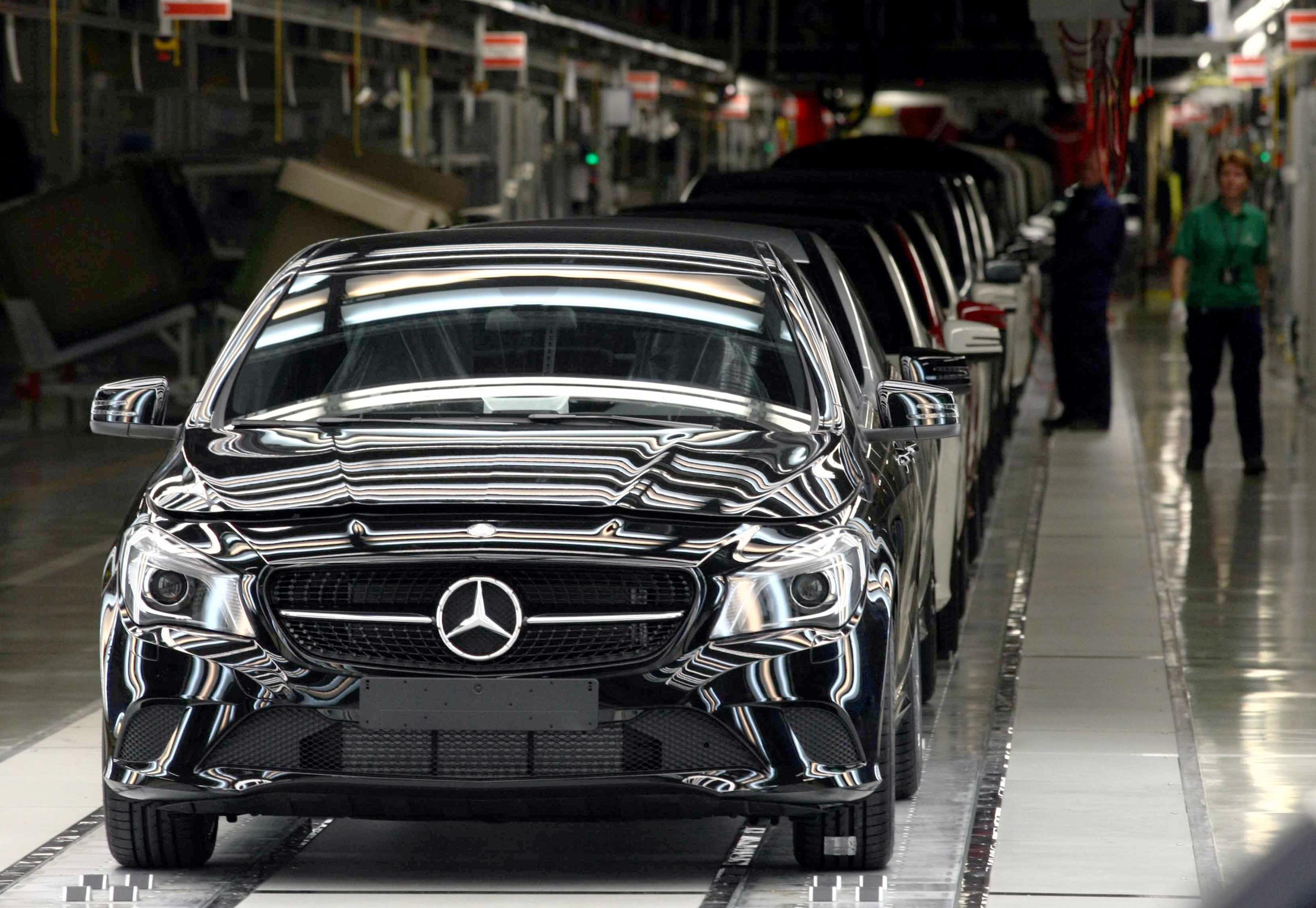 Véget ért a kényszerszünet a kecskeméti Mercedes-gyárban