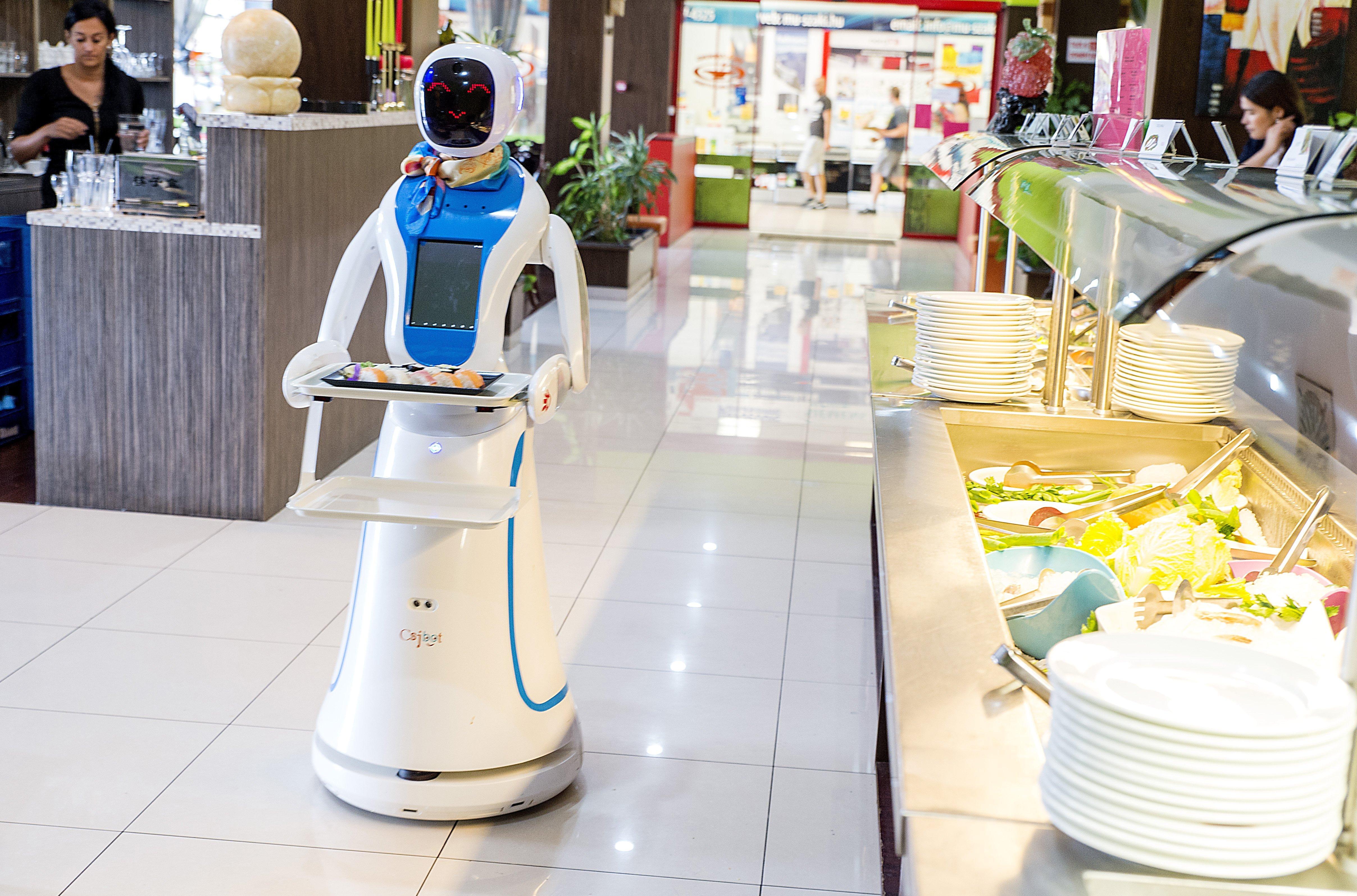 Robotok veszik el az emberek munkáját Győrben