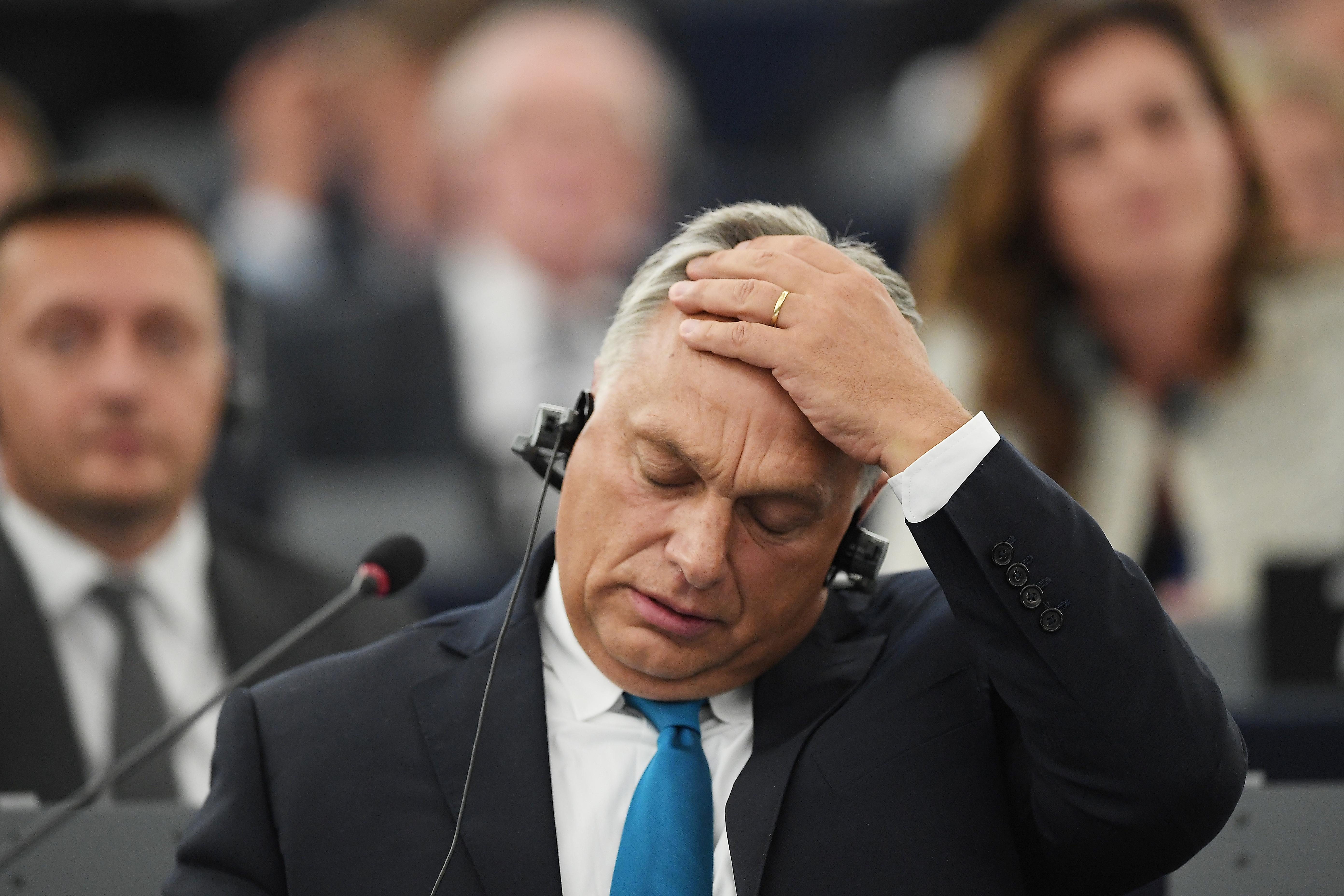 Rásütötték a szégyen bélyegét az Orbán-kormányra az EP-képviselők