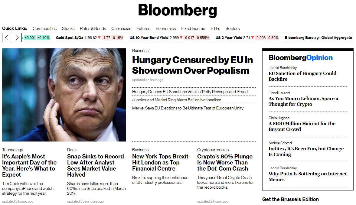 Címlapon hozza a nemzetközi sajtó, hogy Magyarország már nem igazi jogállam