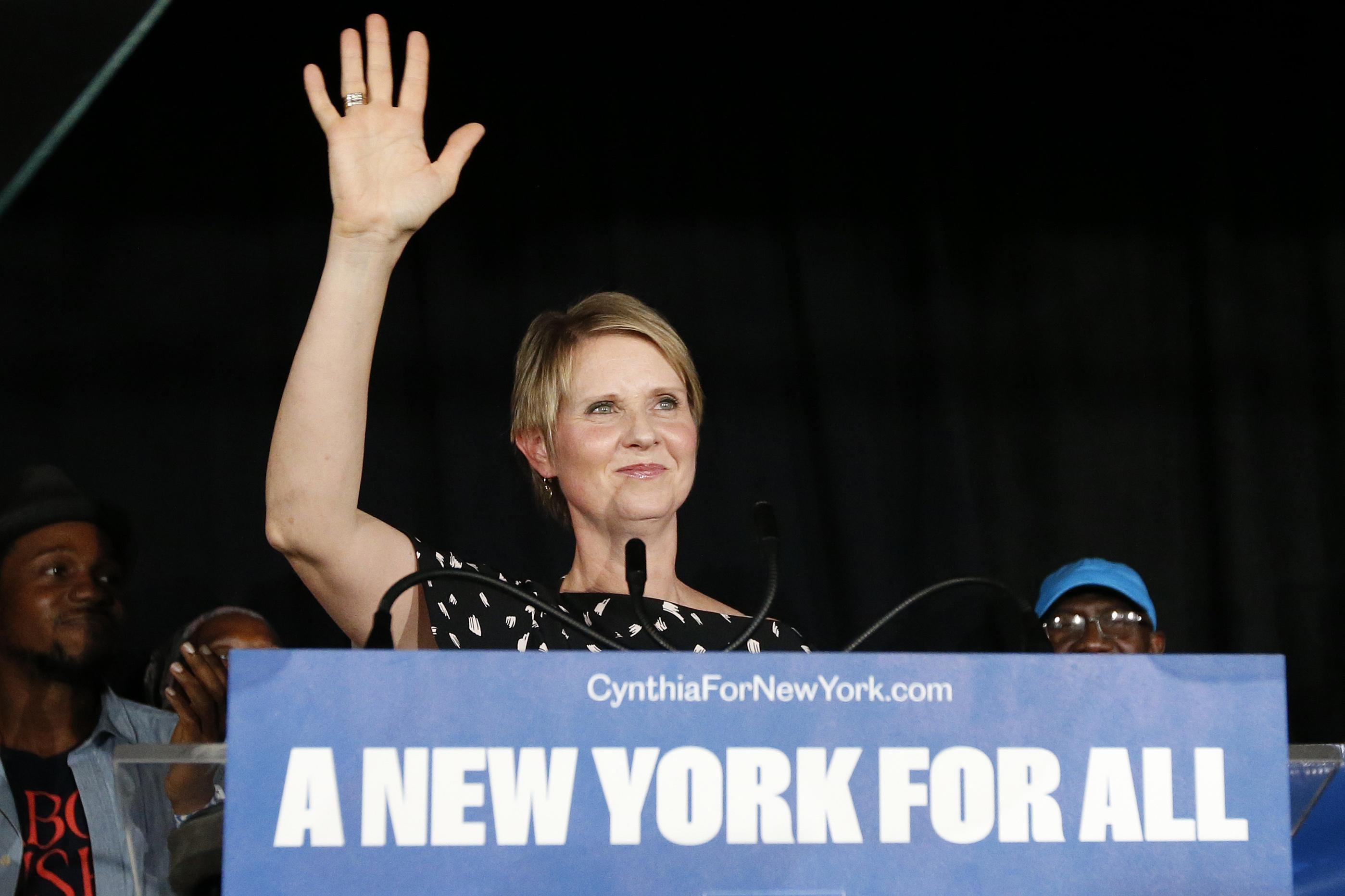 Már biztos, hogy nem lesz kormányzójelölt a Szex és New York sztárja