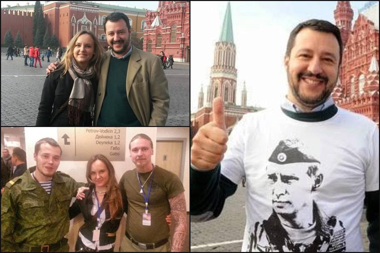 Zsoldosok és fasiszták: Salvini kapcsolata a putyinista olasz alvilággal