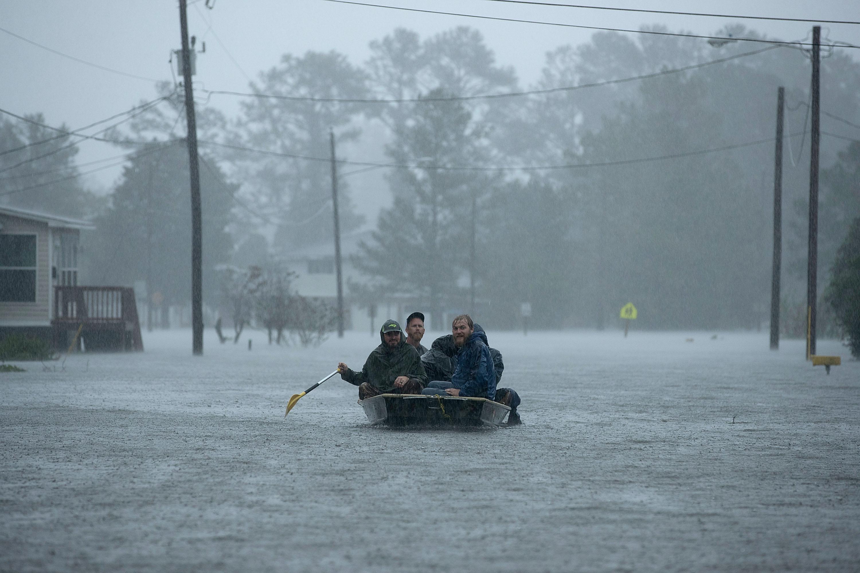 Közel egymillió ember maradt áram nélkül a Florence hurrikán miatt Amerikában