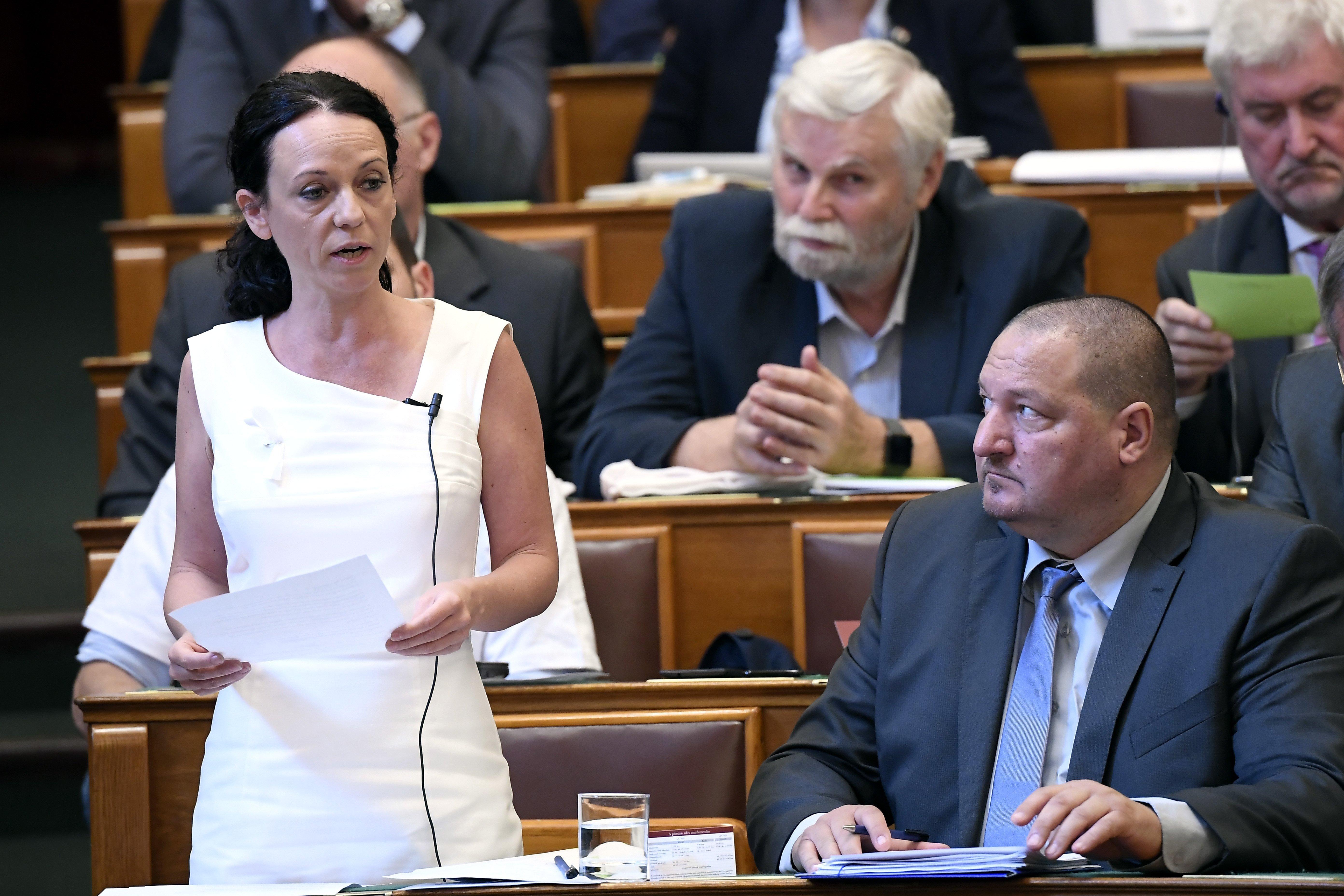 Németh Szilárd szerint az ellenzéki képviselőnők gátlástalanságban, agresszivitásban, hazudozásban, hataloméhségben simán felülmúlják férfi elvtársaikat