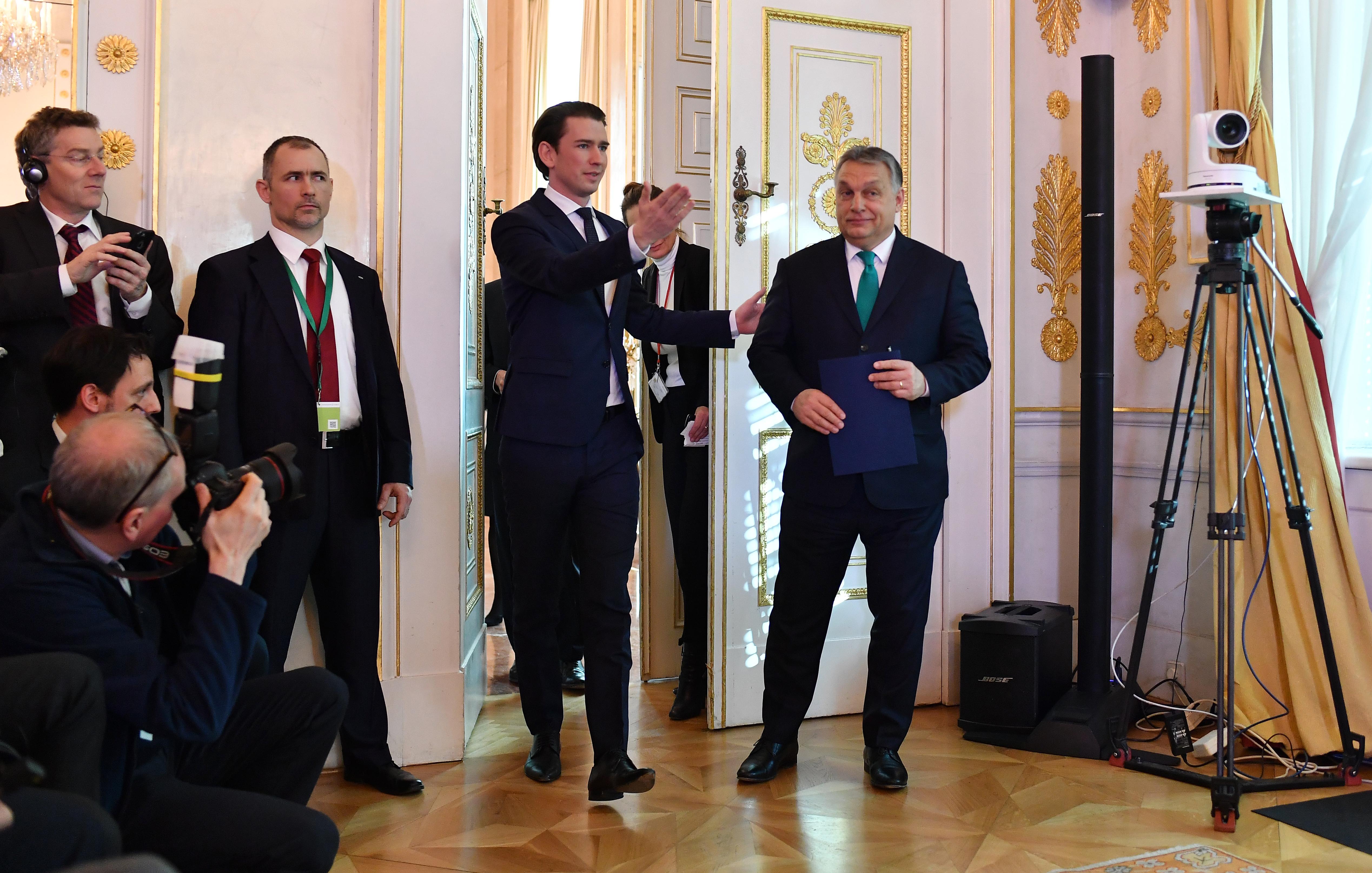 Sebastian Kurz azért támogatta a magyar kormány elleni eljárást, mert szerinte a jogállamiságról nem lehet alkudozni