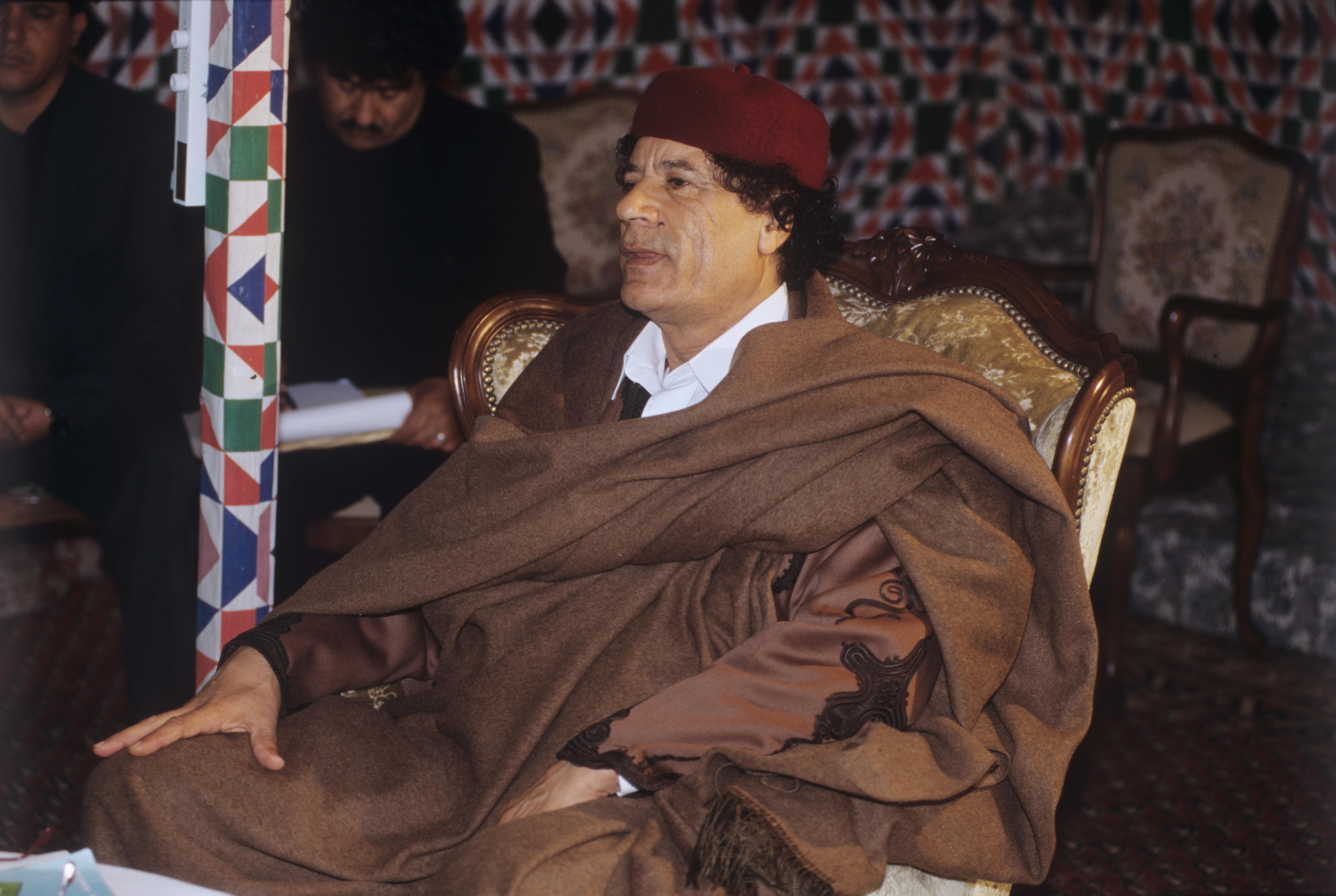 Az oroszok Kadhafi fiát is szívesen látnák a líbiai politikában