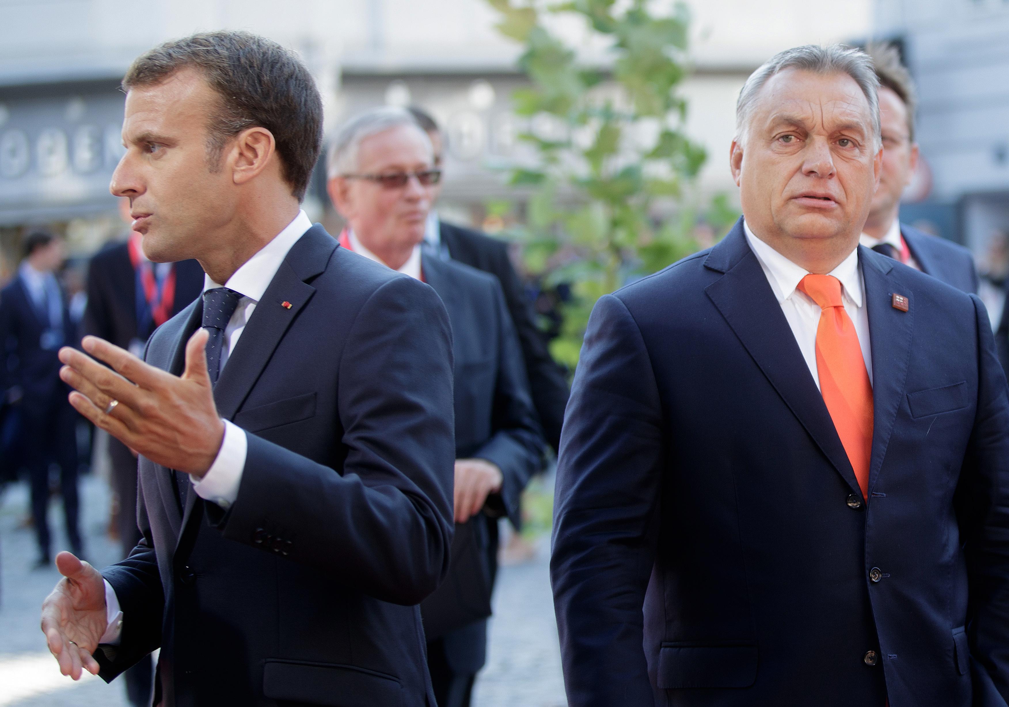 Macron szerint Magyarországnak el kell hagynia a schengeni övezetet, ha a kormány nem tartja be a szabályokat