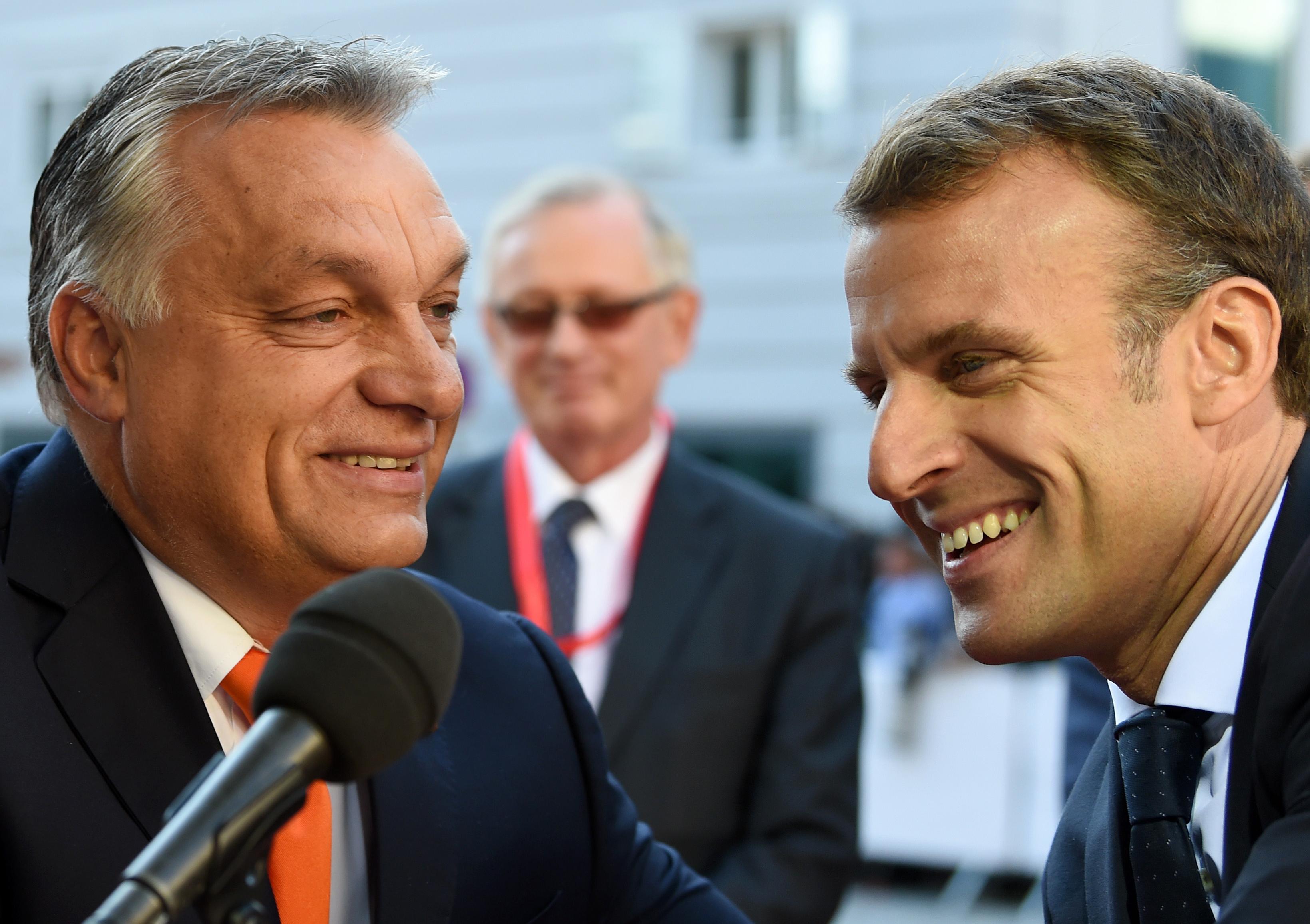 Orbán és Macron ugyanazt követelték két napon belül