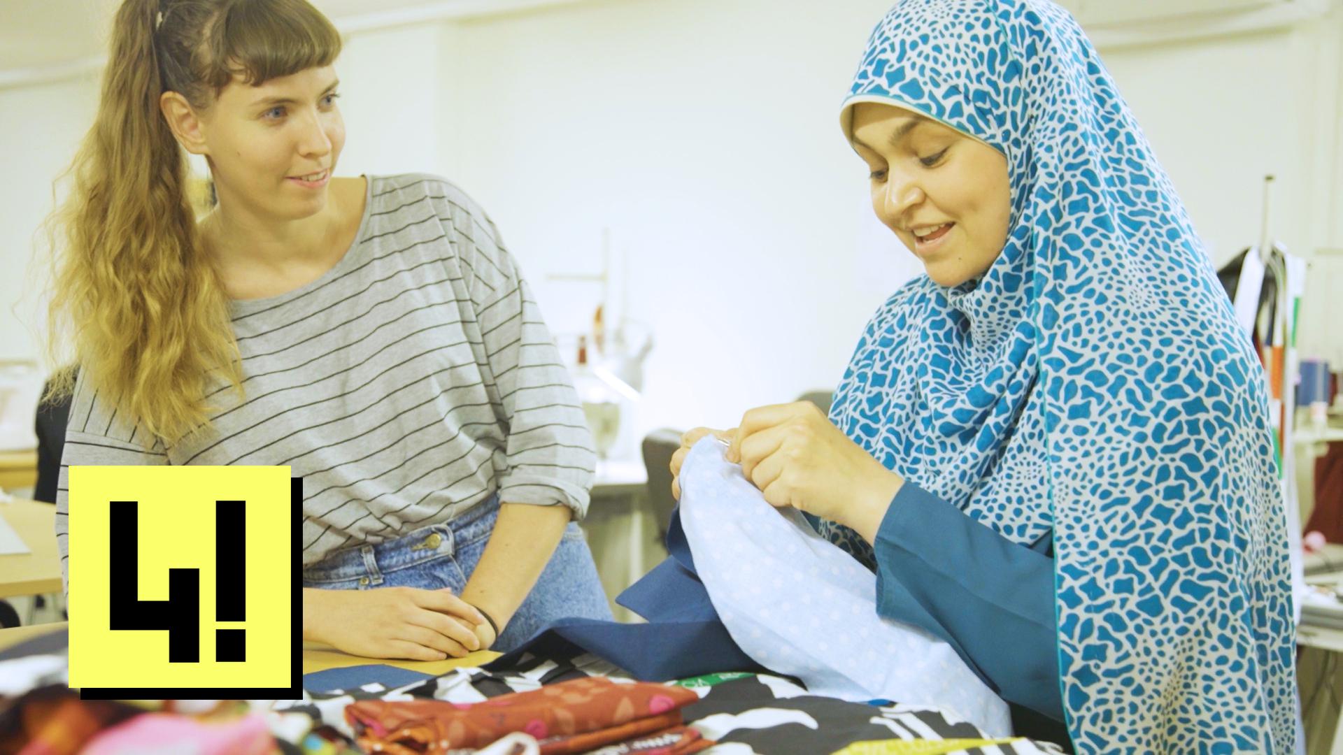 A következő IKEA függönyödet már talán ezek a bevándorló nők varrják