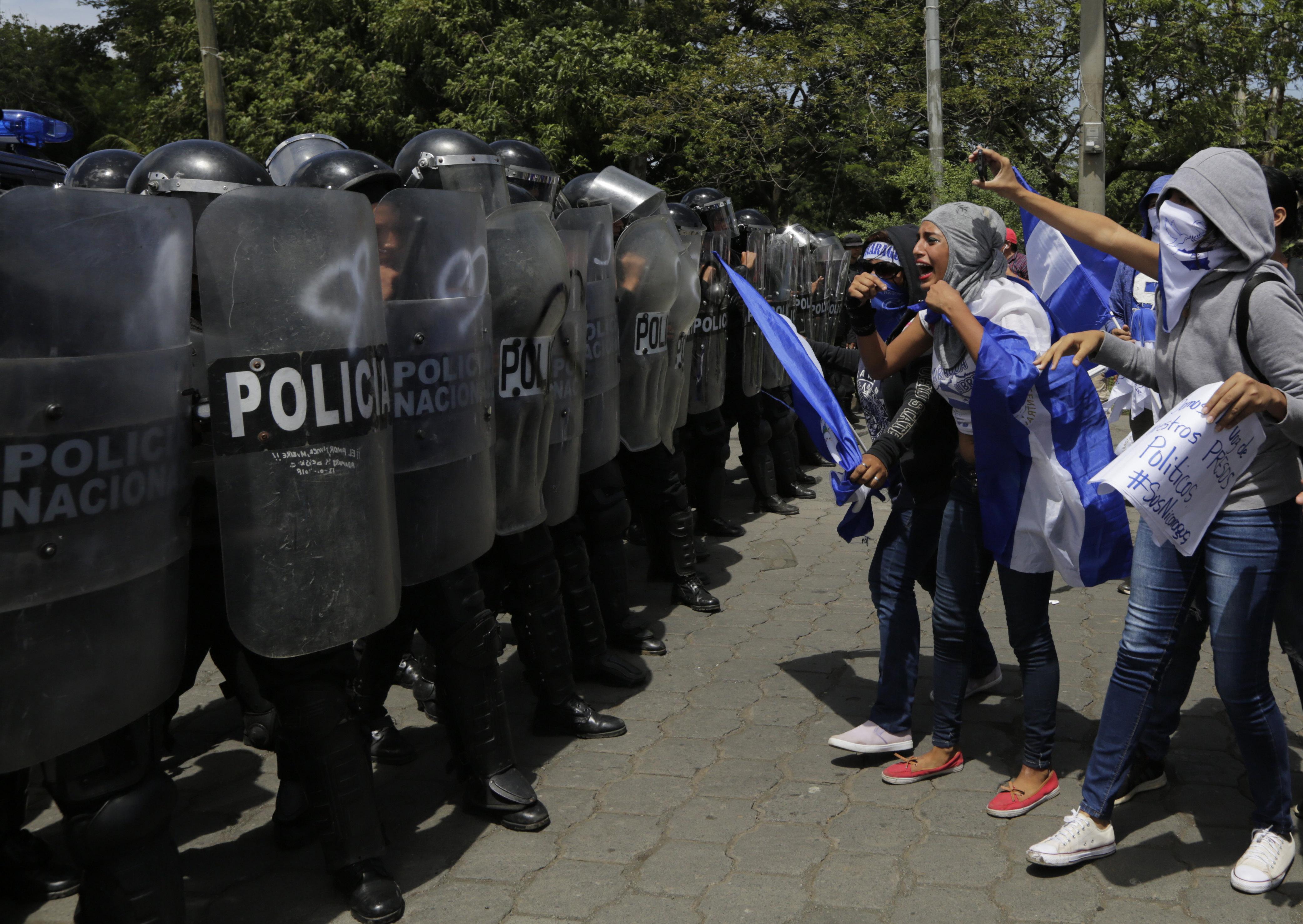 Nicaraguai diáktüntetések: 512 ember meghalt, 4000 megsérült, 1428 eltűnt