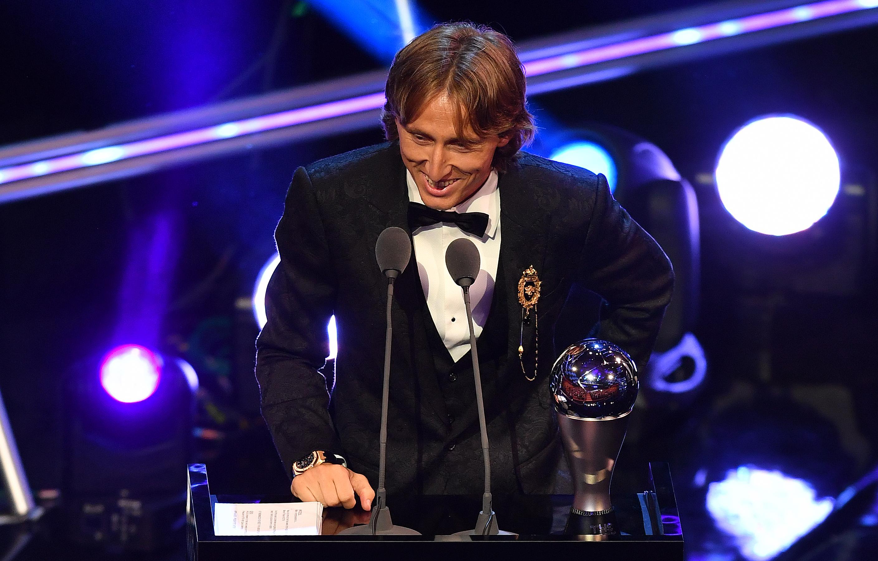 Nem Messi és nem Ronaldo, hanem Luka Modric lett az év játékosa
