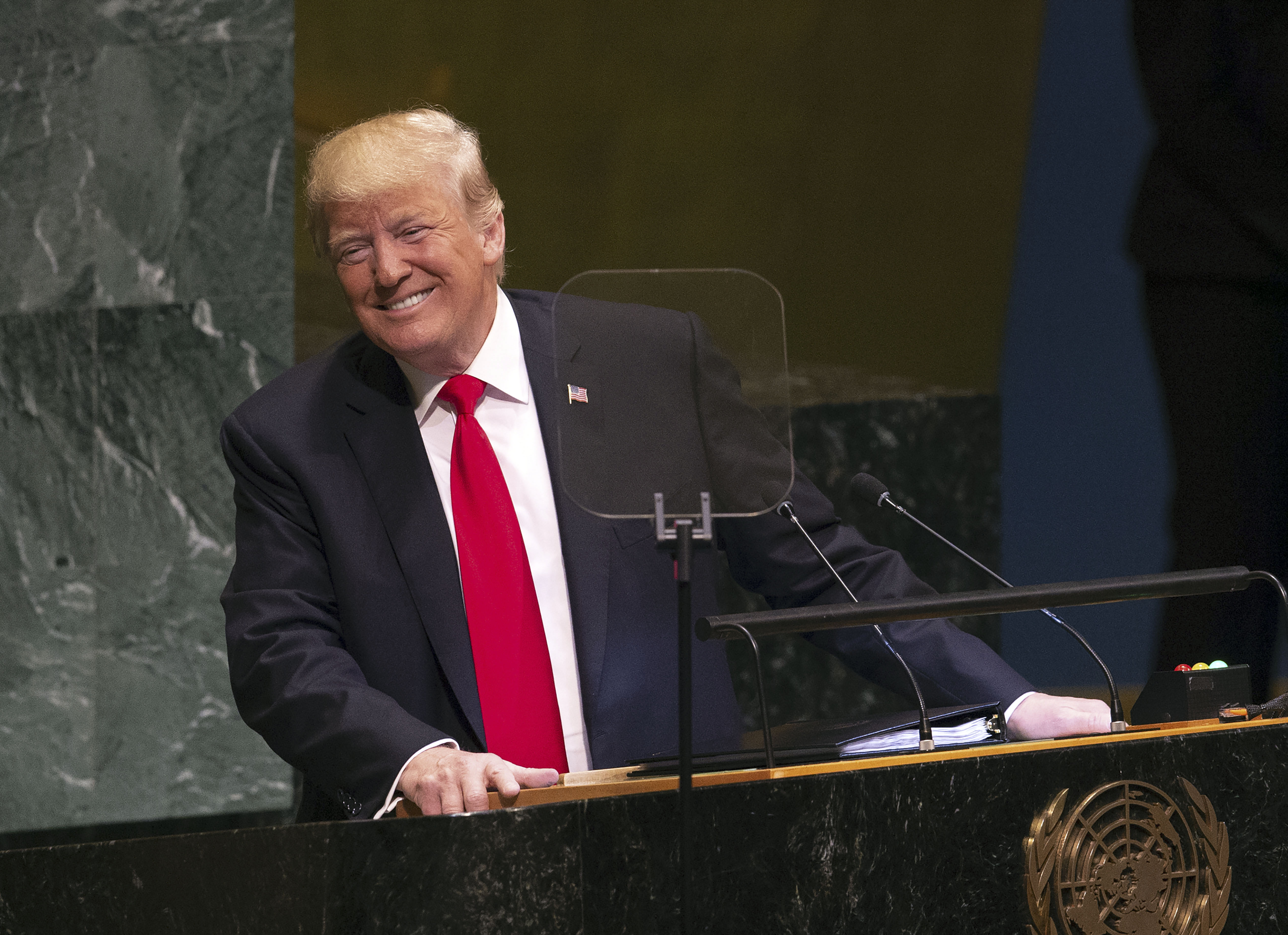 Kiröhögték Trumpot az ENSZ Közgyűlésén
