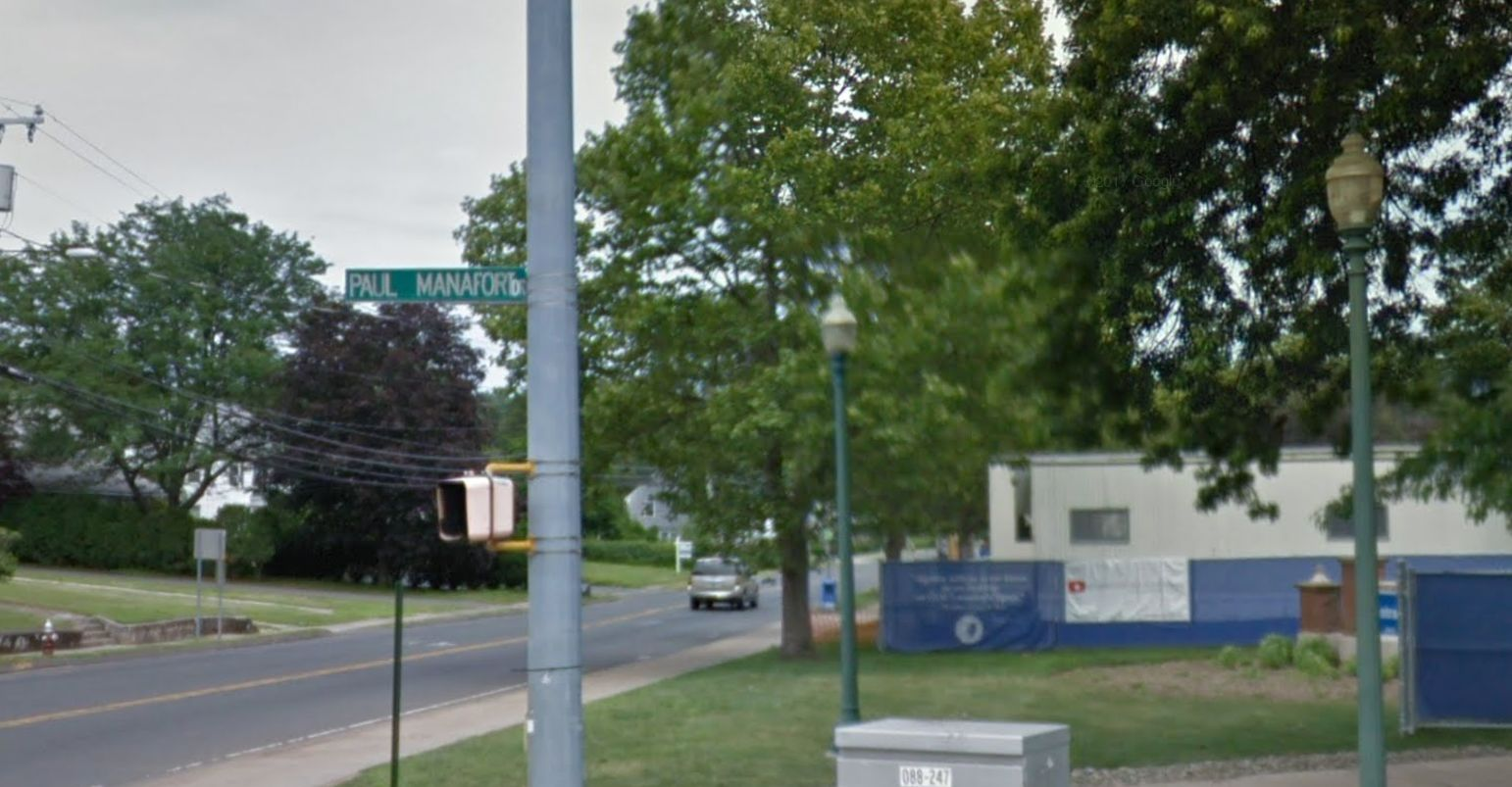 Connecticutban van egy Paul Manafort utca, de már nem sokáig