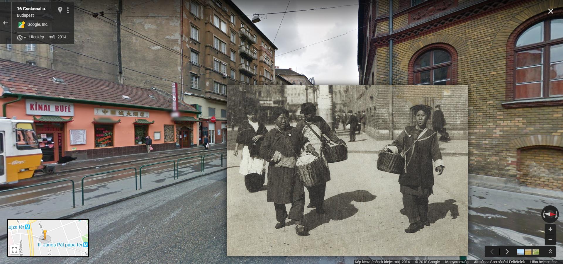 Már száz éve is kereskedtek kínaiak a Népszínház utcában