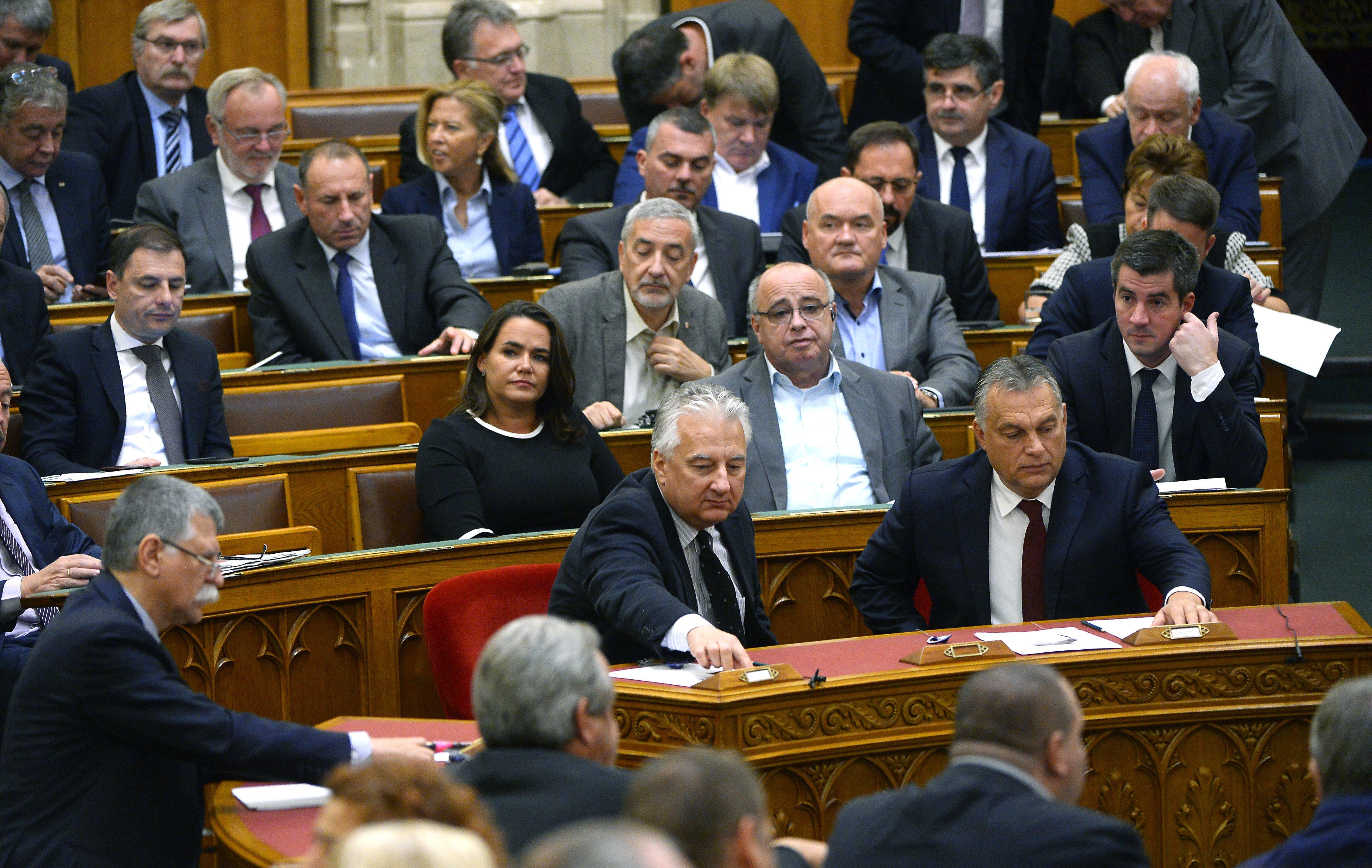 A fideszes többség simán leszavazta, hogy az Európai Ügyészséghez való csatlakozásról döntsön az Országgyűlés