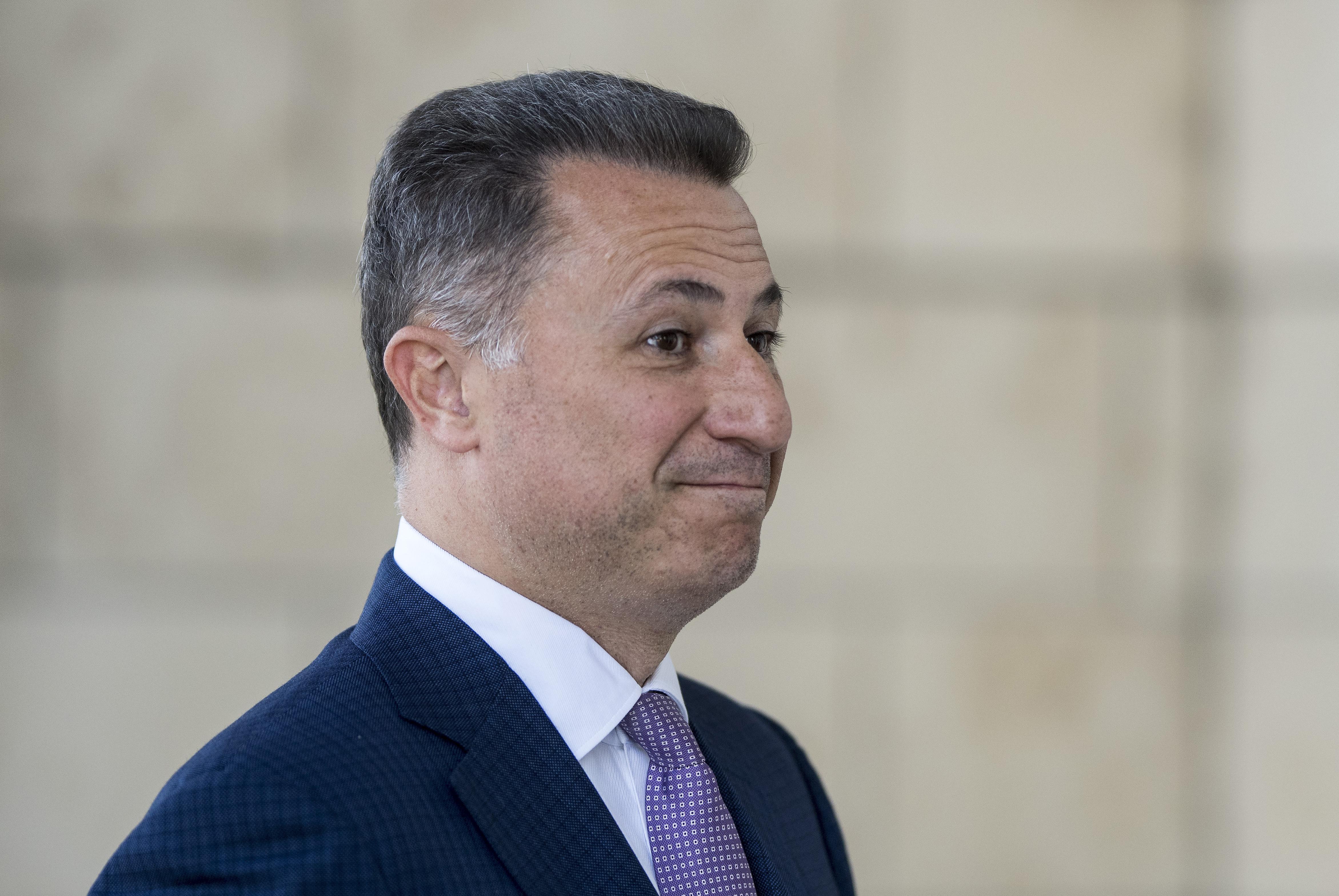 Akkora balhé van Észak-Macedóniában, hogy a végén még Nikola Gruevszki is hazamehet