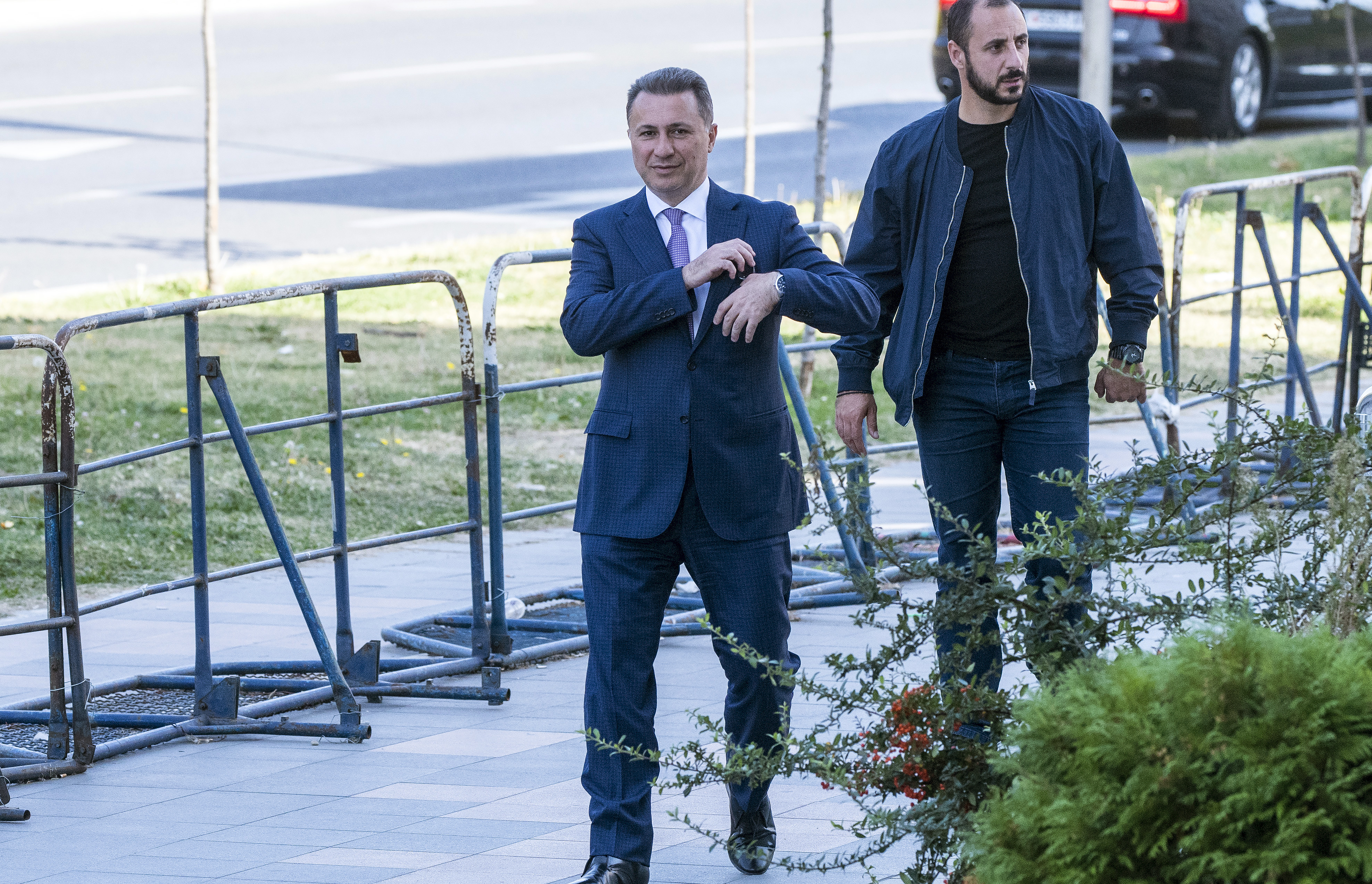 Nem jelent meg a börtönnél, elfogatóparancsot adtak ki Nikola Gruevszki volt macedón miniszterelnök ellen