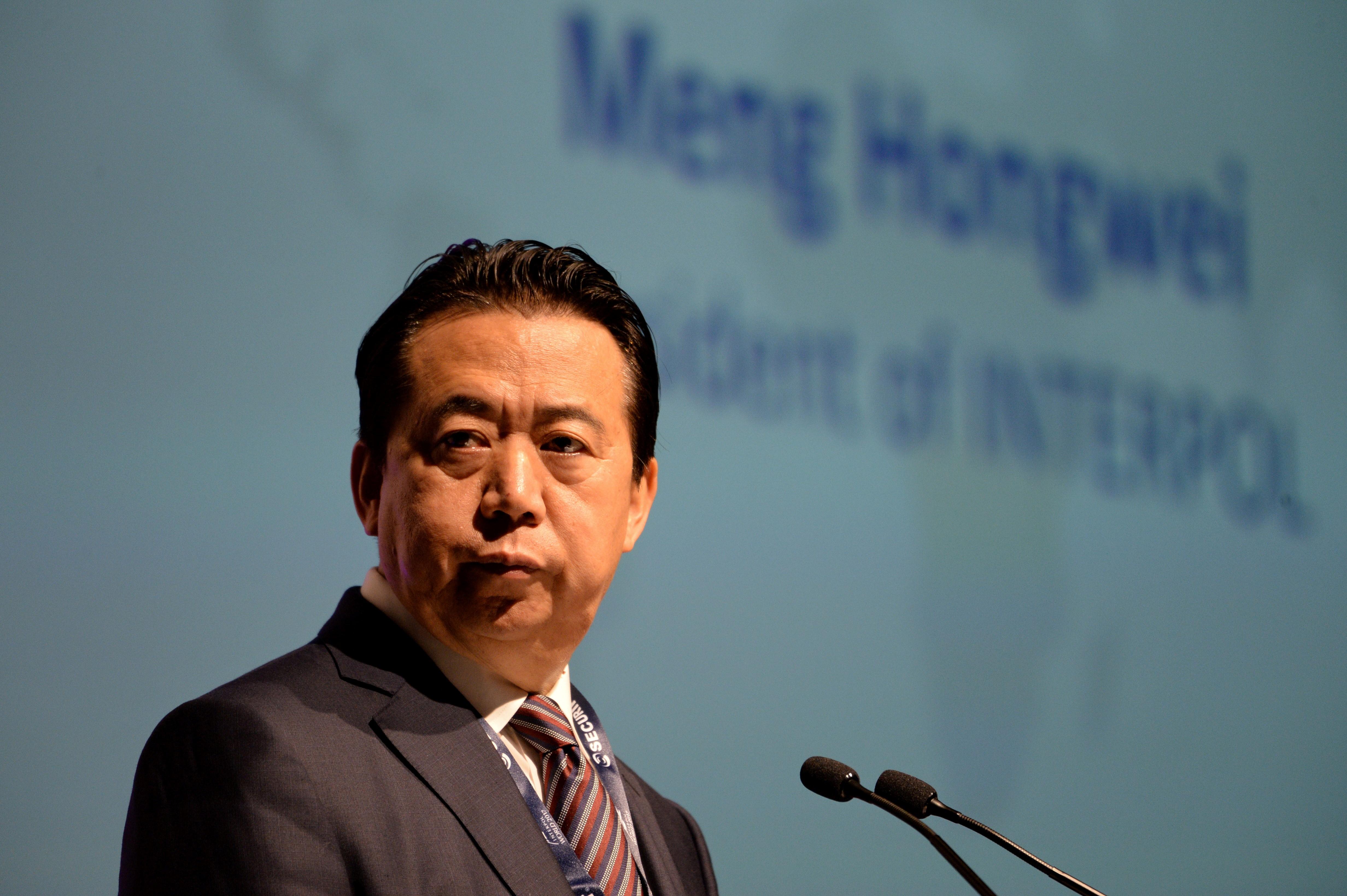 Kína letartóztatta az Interpol főnökét, és egy hete nem tudni róla semmit