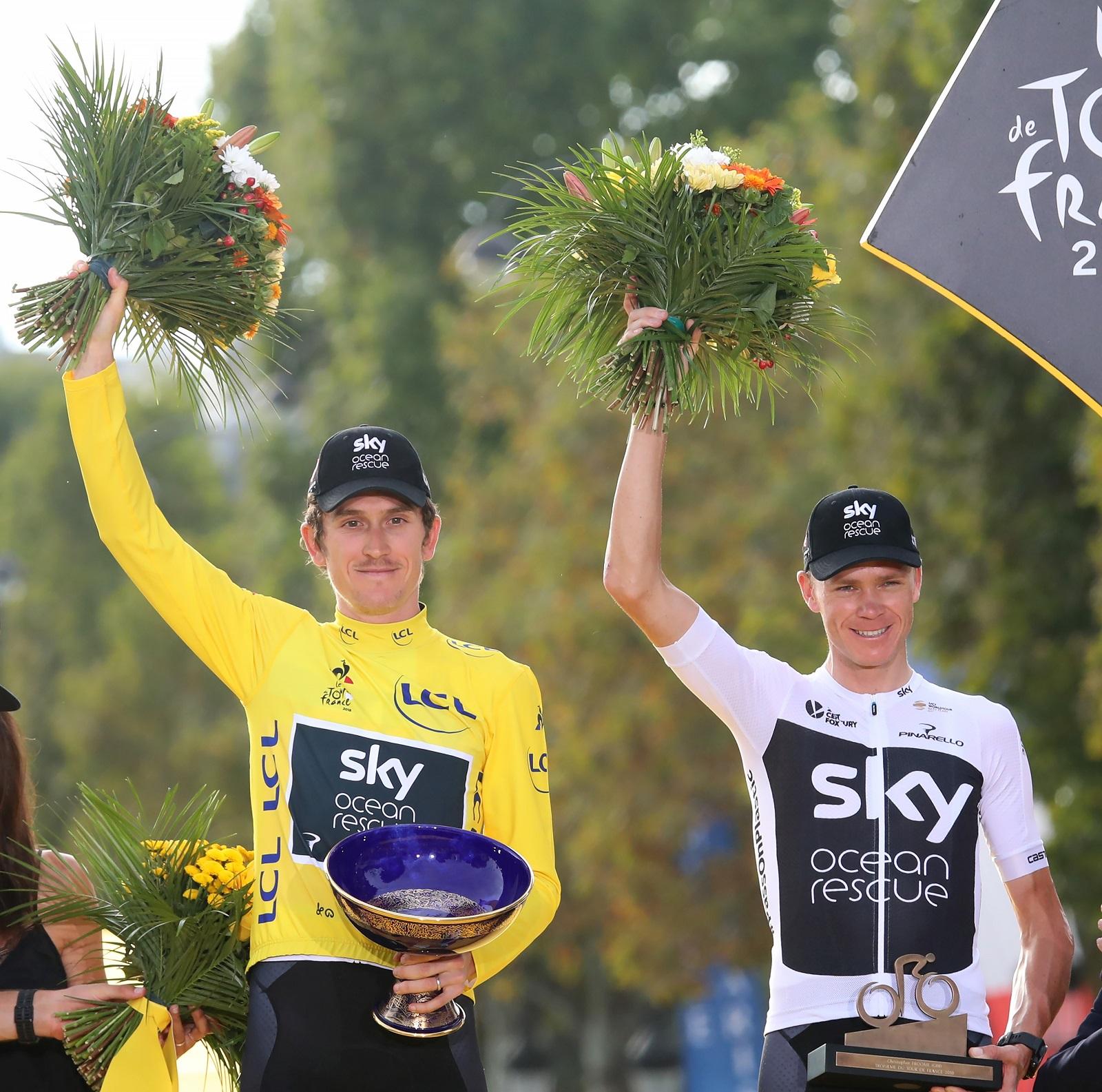 Ellopták Geraint Thomas Tour de France-serlegét