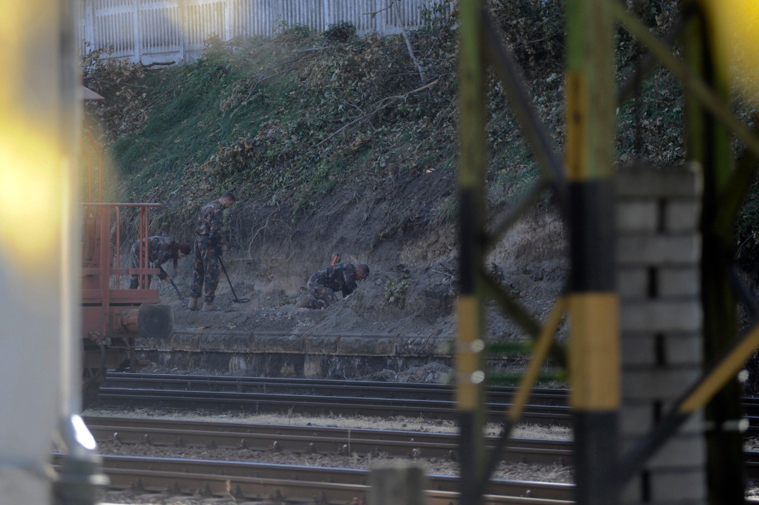 Elvitték a tűzszerészek a Déli pályaudvaron talált bombát