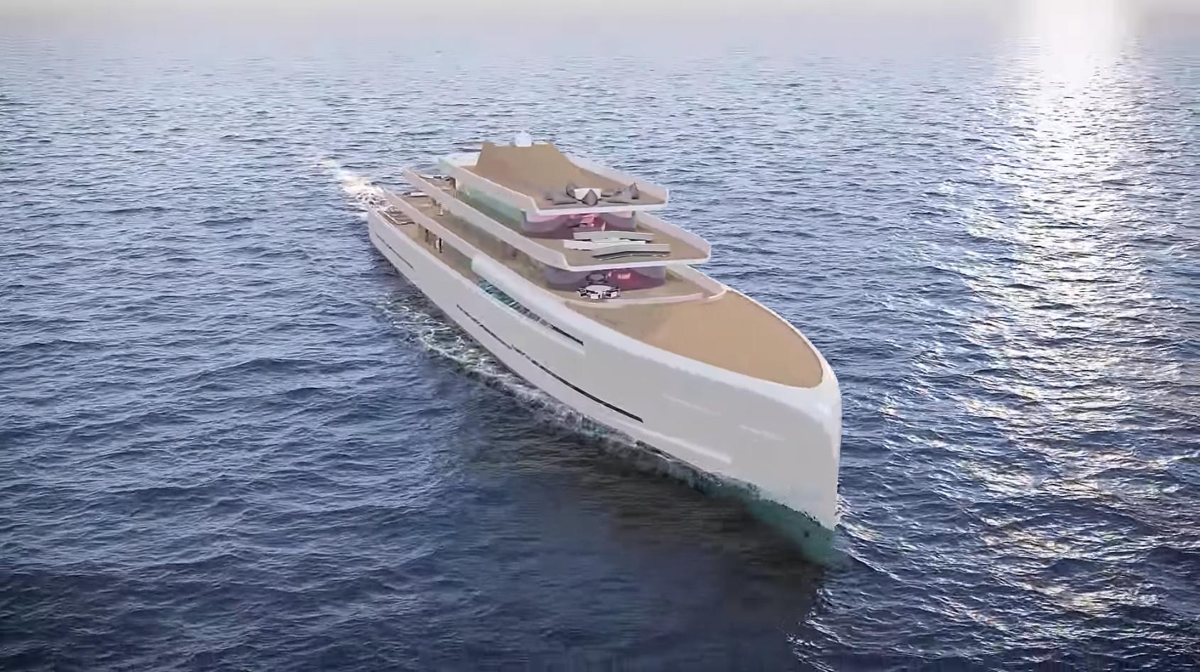 Lőrinc álma: készül a 200 millió fontos szuperjacht, ami         láthatatlanná válik a vízen