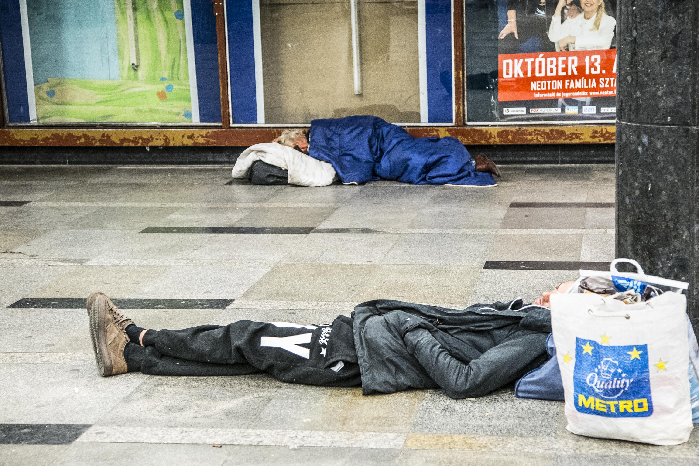 Kilenc hajléktalan ellen indult eljárás a szigorítás óta