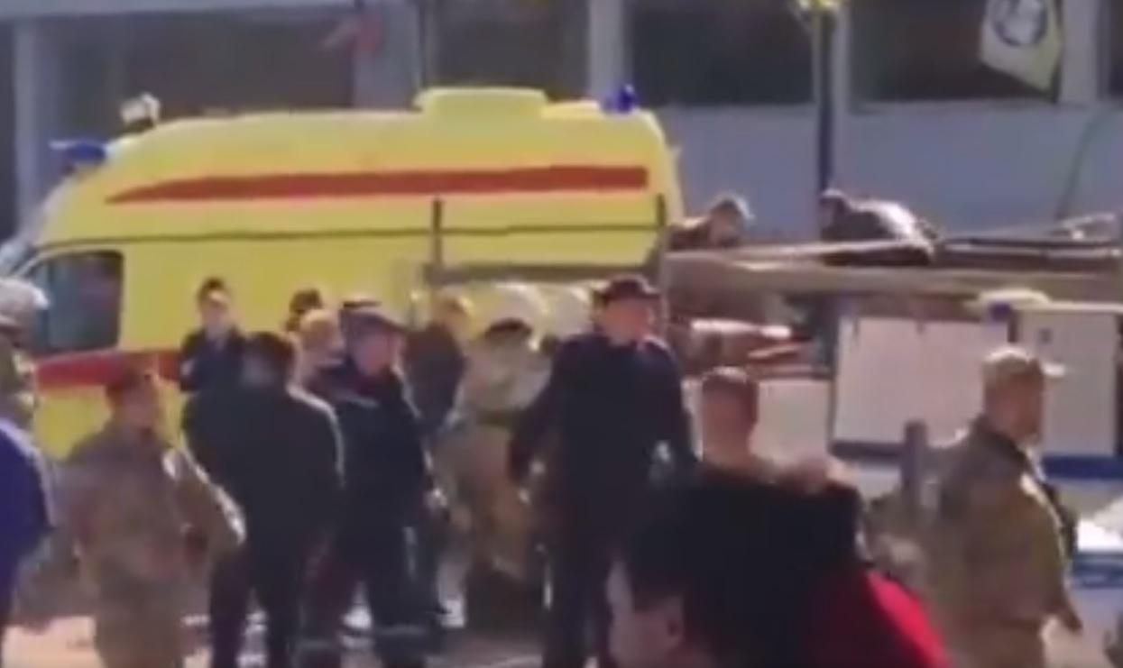 Robbanás volt egy krími középiskolában, 18 ember meghalt