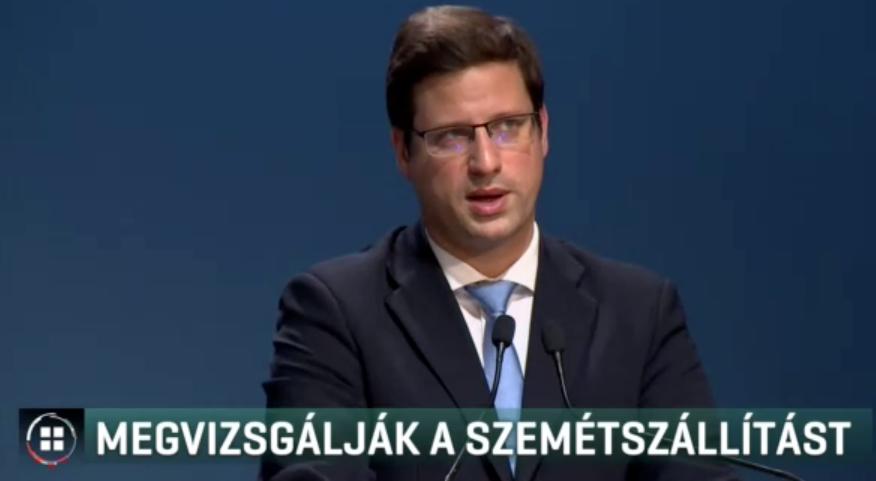 Budapest teljes területén akadozik a szelektív szemét szállítása, Gulyás Gergely szerint a több pénz a megoldás