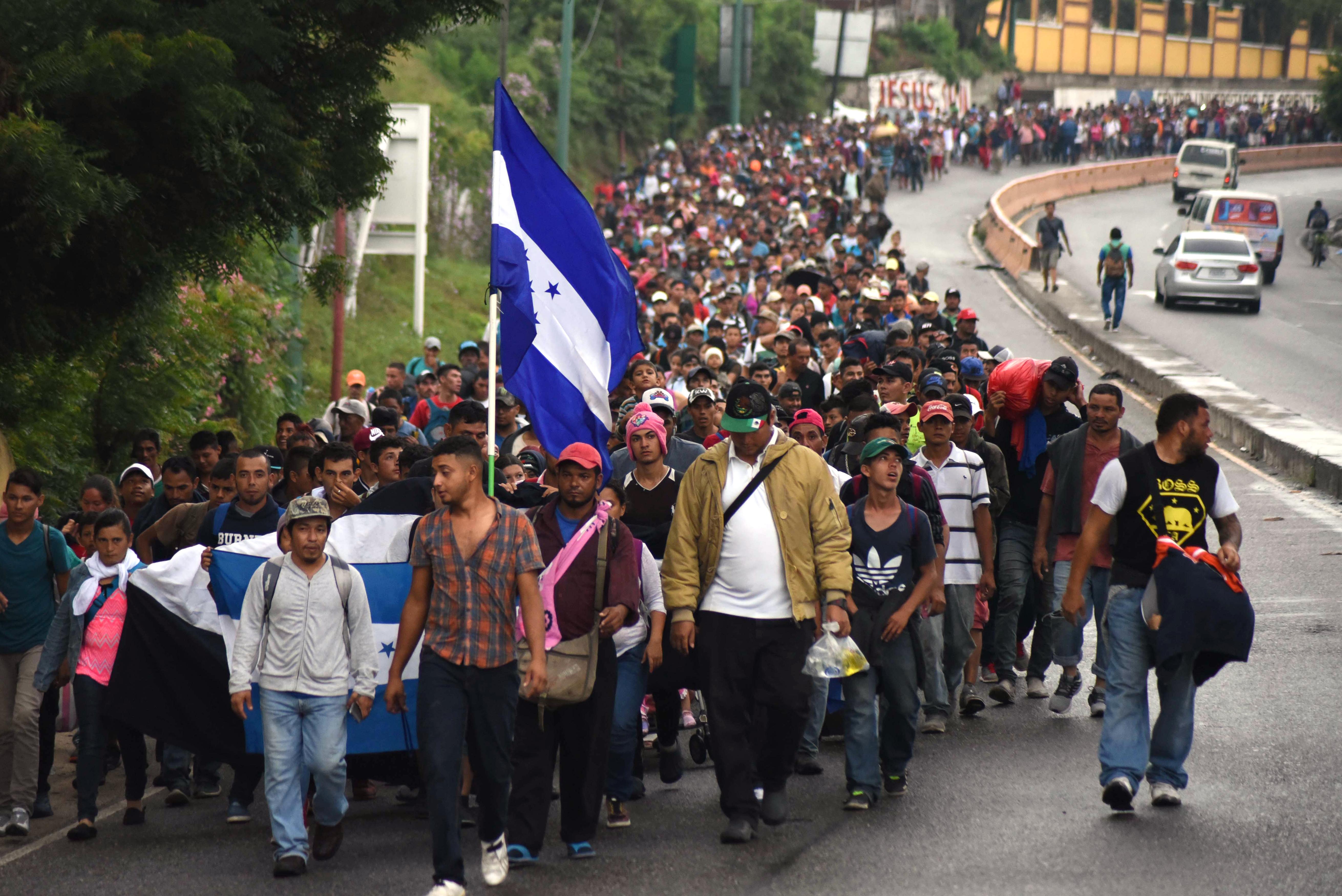 Hondurasi menekültektől indult be az amerikai hisztéria