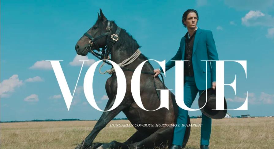 Kozmopolita divatmániások, elő a karikás ostorral, a Vogue szerint a csikós a divat!