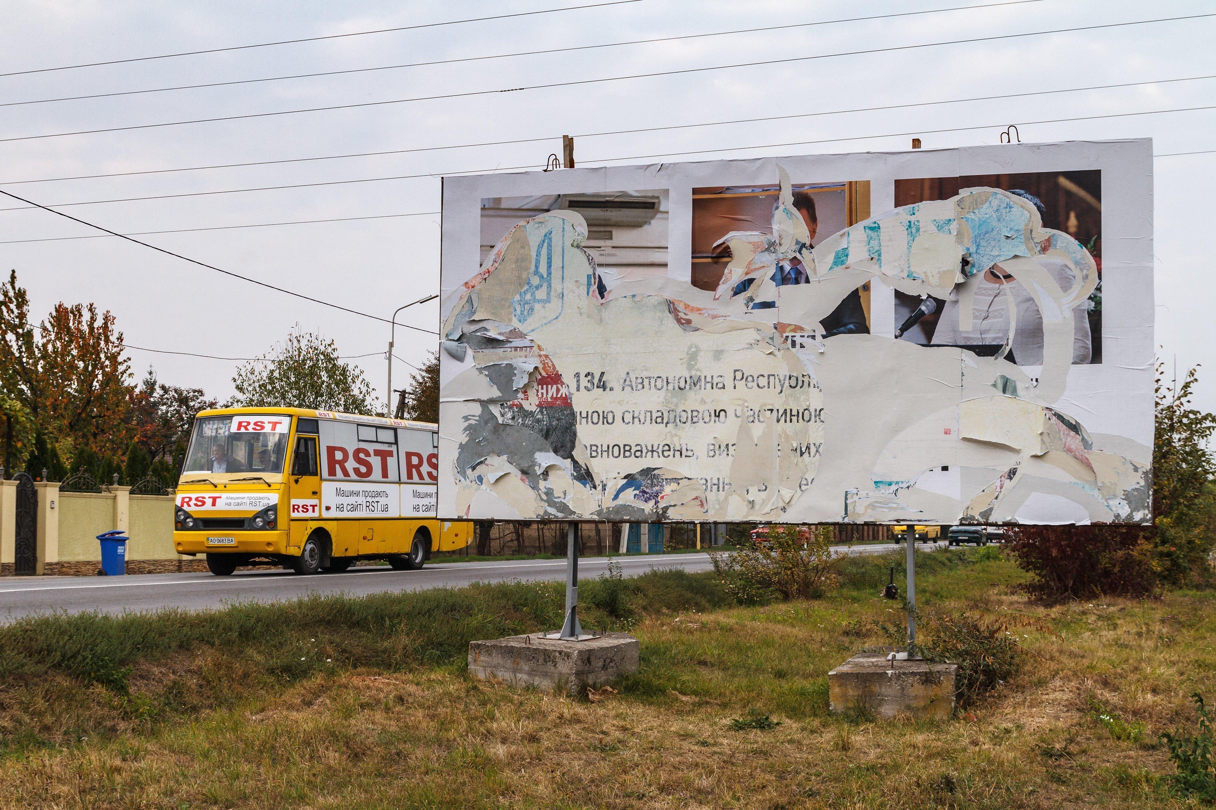 Magyarellenes óriásplakátokat ragasztottak ki Kárpátalján, a kormányzó szerint az orosz titkosszolgálat szítja a feszültséget