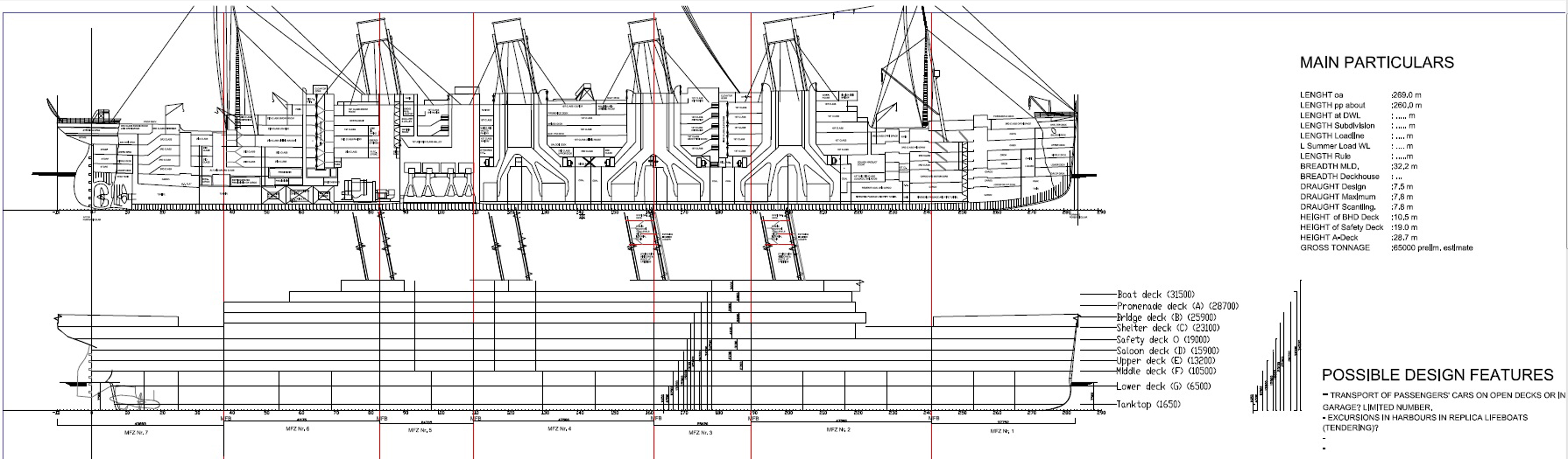 Sínen van a Titanic II terve