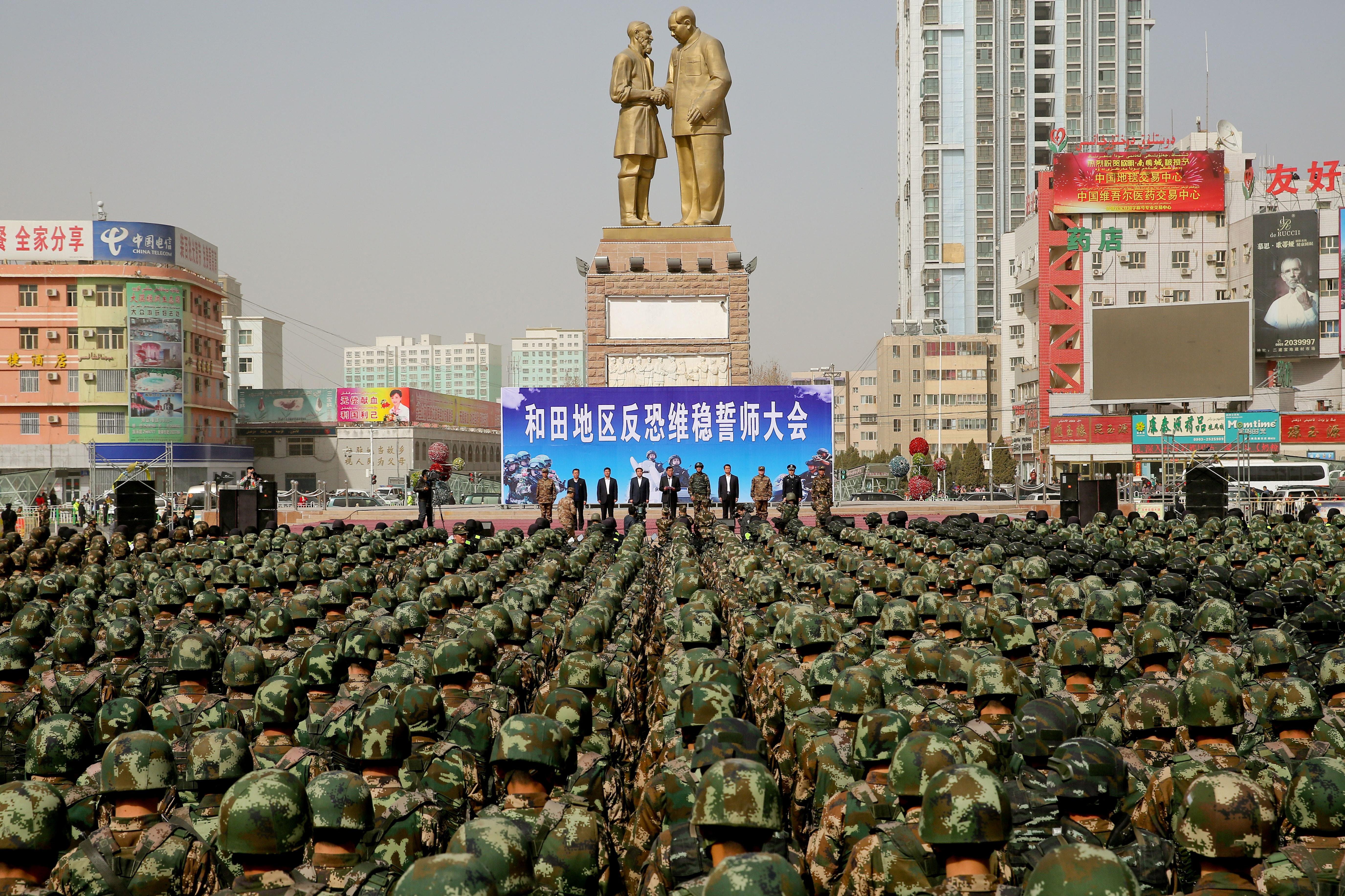 Trump elnökségének utolsó napján az USA népirtásnak nevezte, amit Kínában az ujgurokkal művelnek