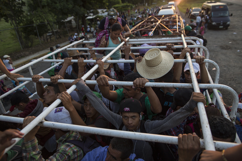 Mexikó munkát ajánl a hondurasi menekülteknek, ha délen maradnak