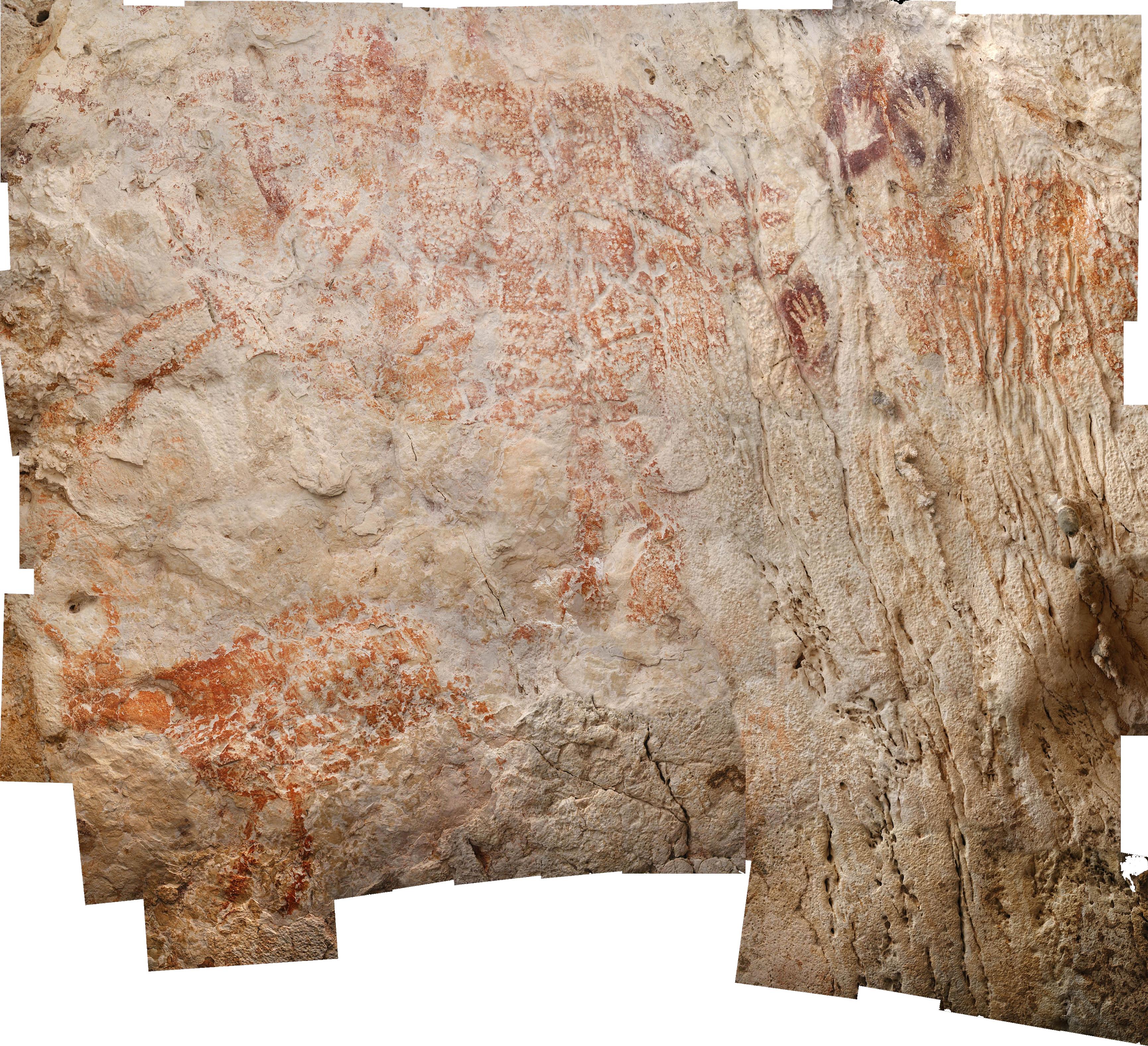 Egy borneói barlangban fedezték fel a világ legrégebbi figuratív rajzait