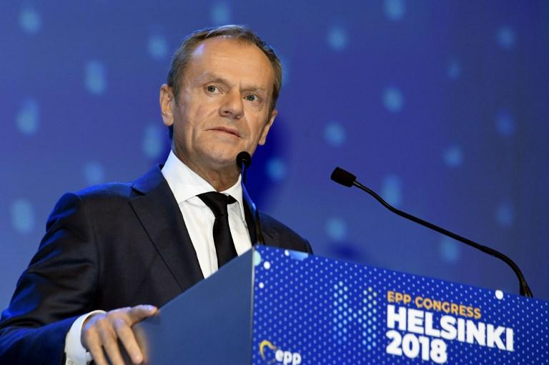 Tusk lehet a Néppárt elnöke, egy CDU-politikus közben megpendítette Magyarország kizárását Erdogan támogatása miatt