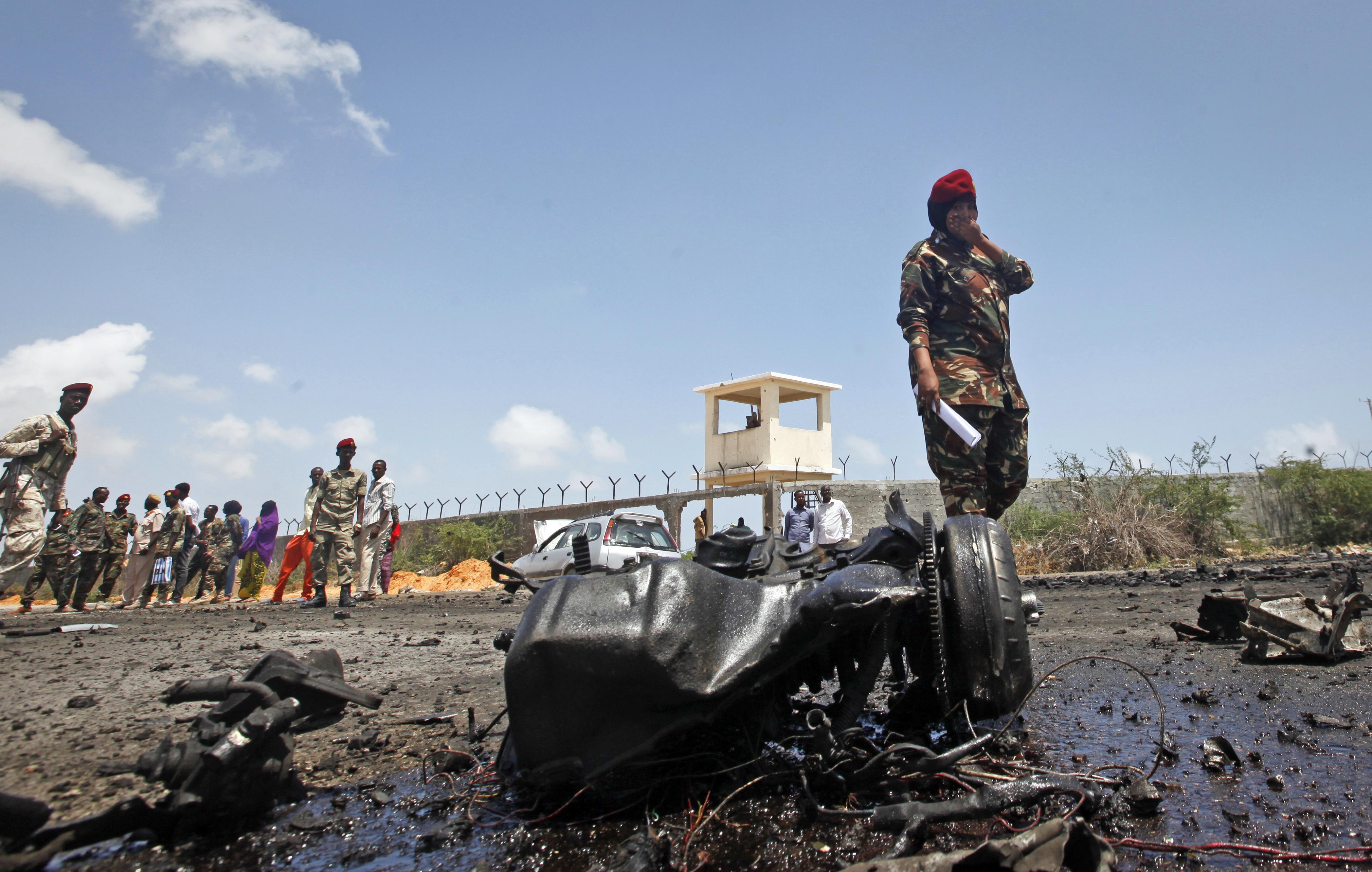 Robbantássorozat Mogadishuban
