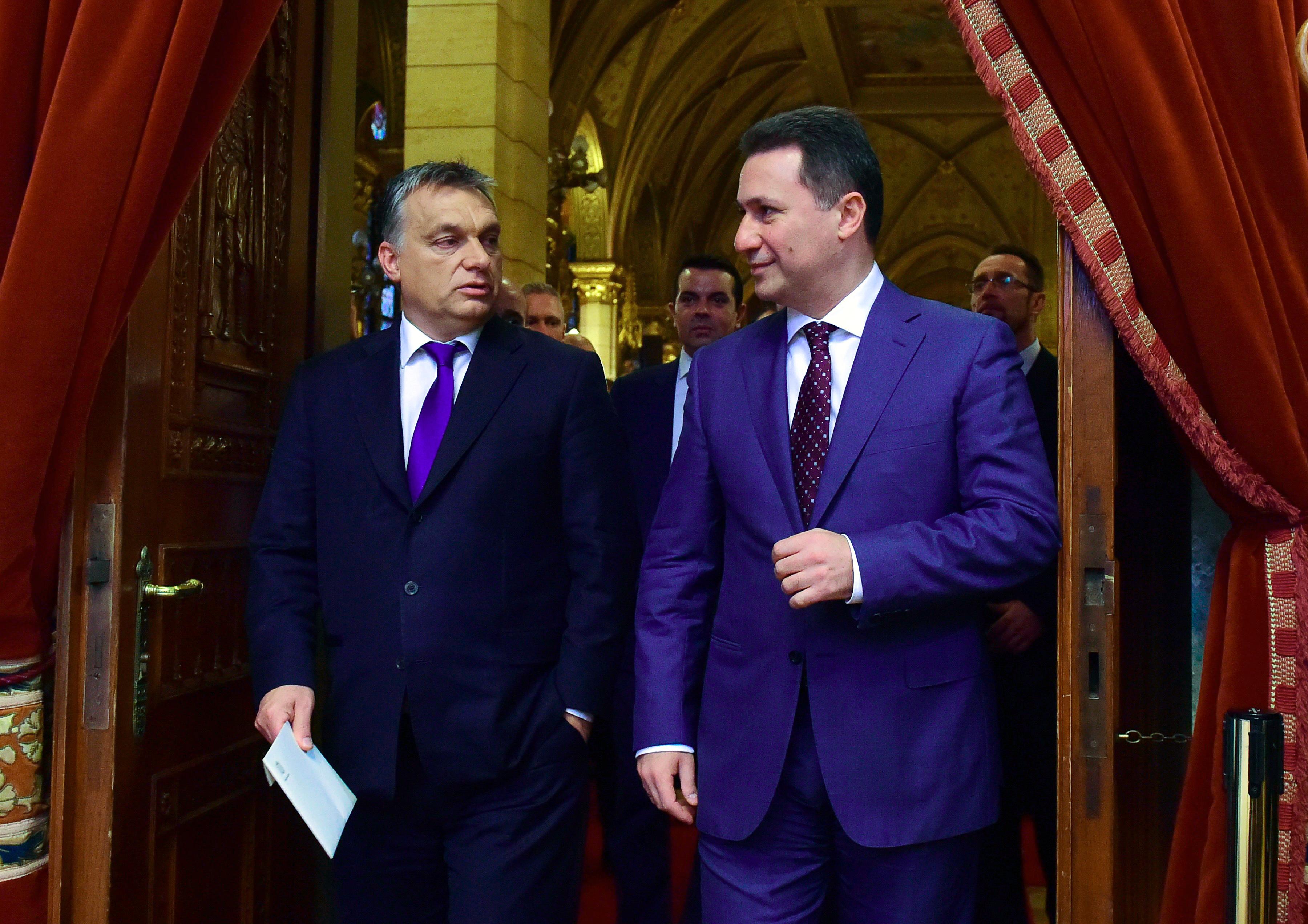 A Miniszterelnökség elismerte, hogy Gruevszki különleges elbánásban részesül