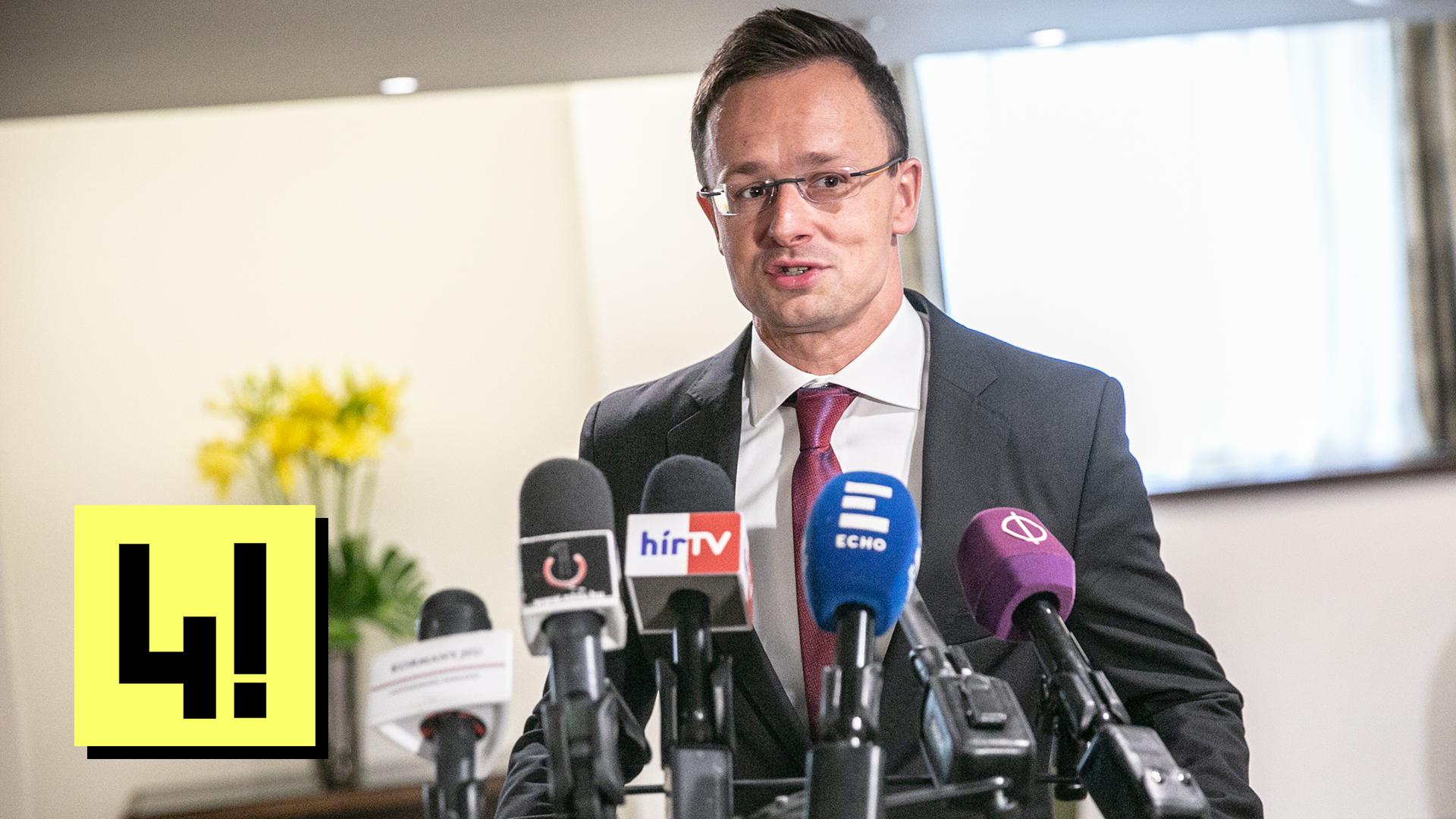 Szijjártó nem mondhatja el, hogyan jutott be útlevél nélkül a körözött macedón miniszterelnök