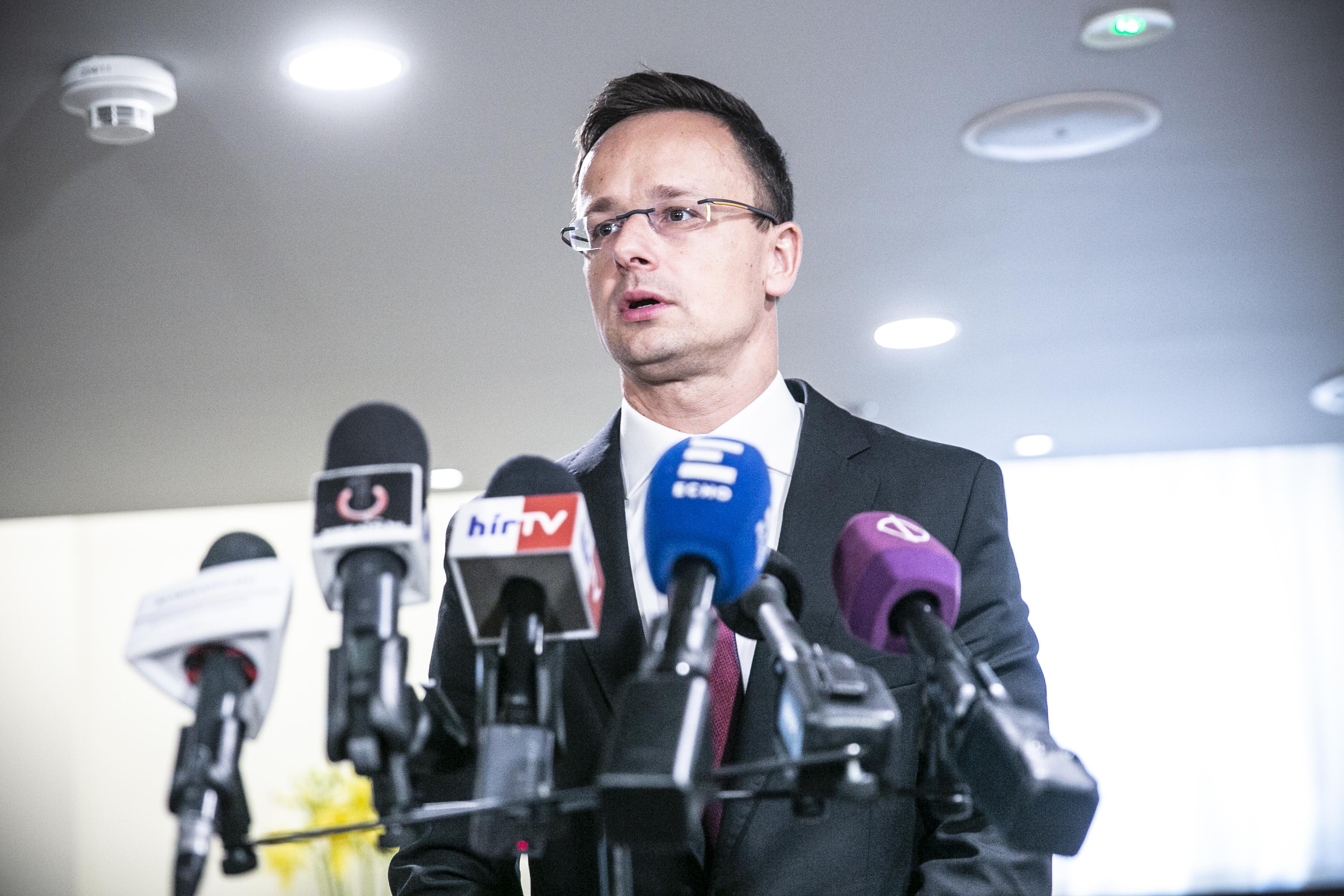 Az orosz gázfüggőség csökkentéséről tárgyaltak Szijjártóval Washingtonban