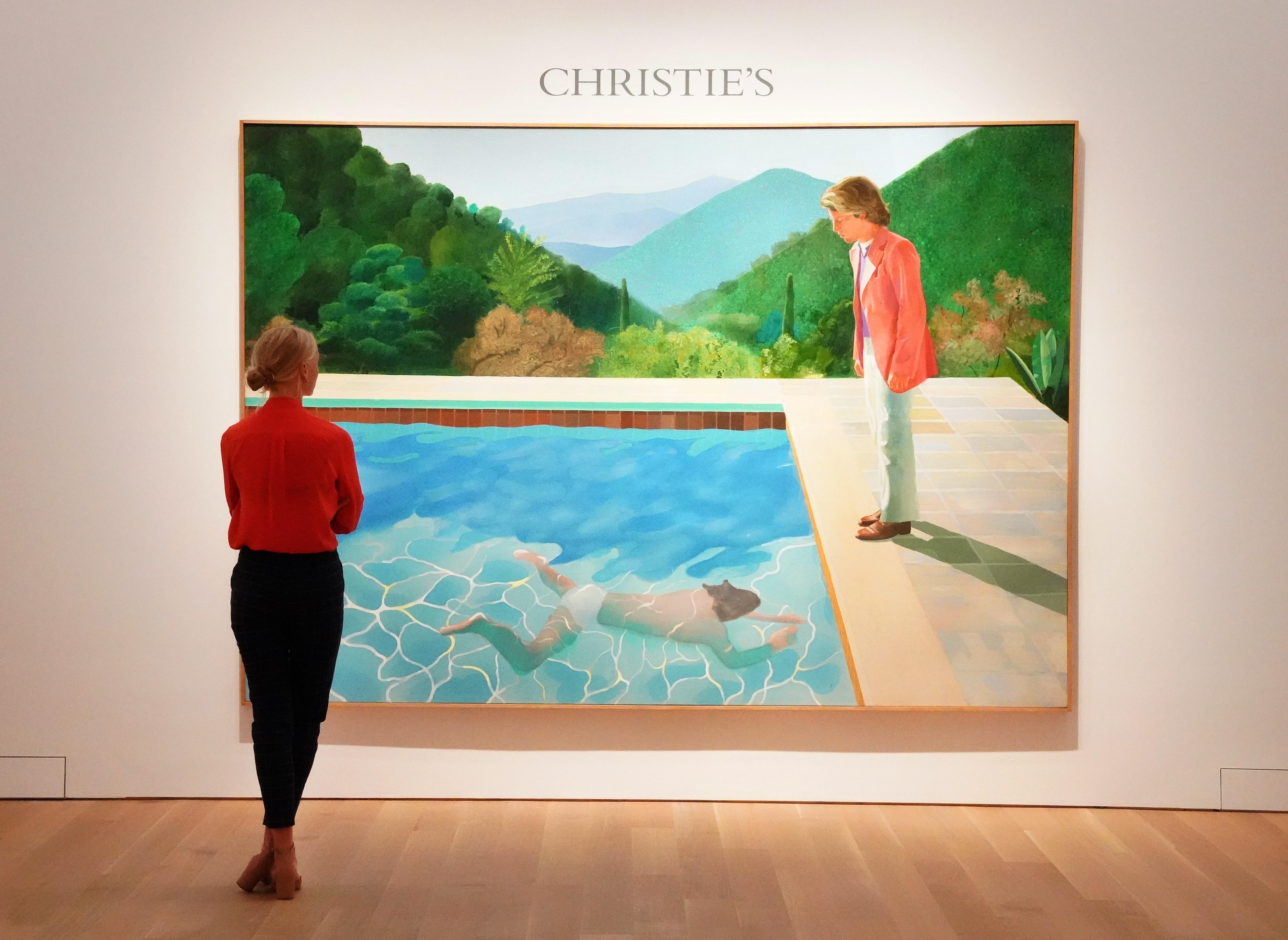 Soha nem fizettek még annyit élő művész festményért, mint amennyiért Hockney képe elment