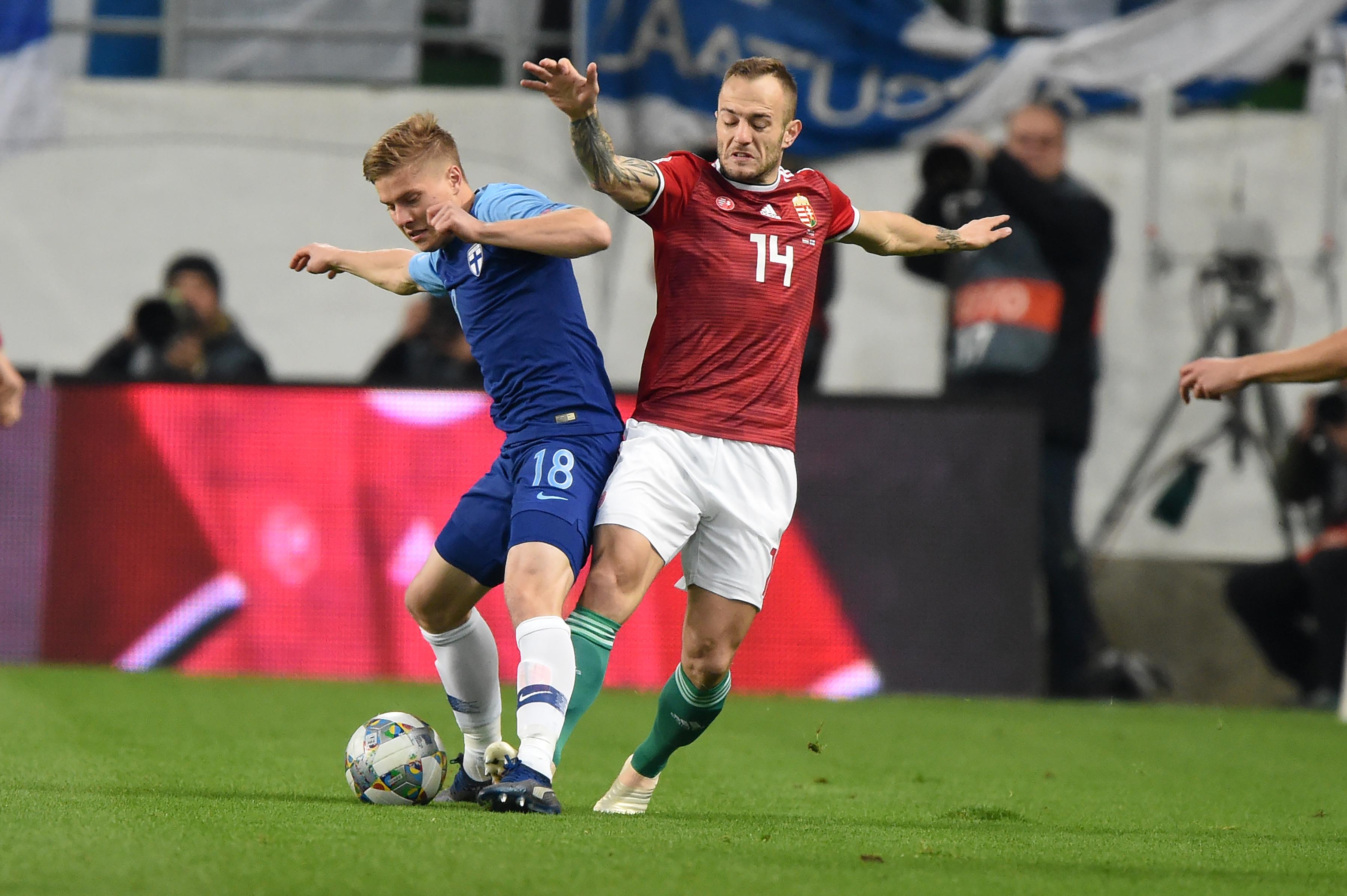 Két okos és szép góllal verte a válogatott a finneket