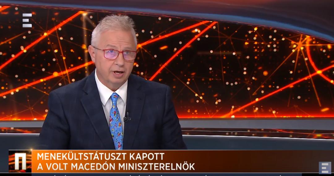 Trócsányi: Gruevszki, mint minden menekült, mostantól szabadon közlekedhet