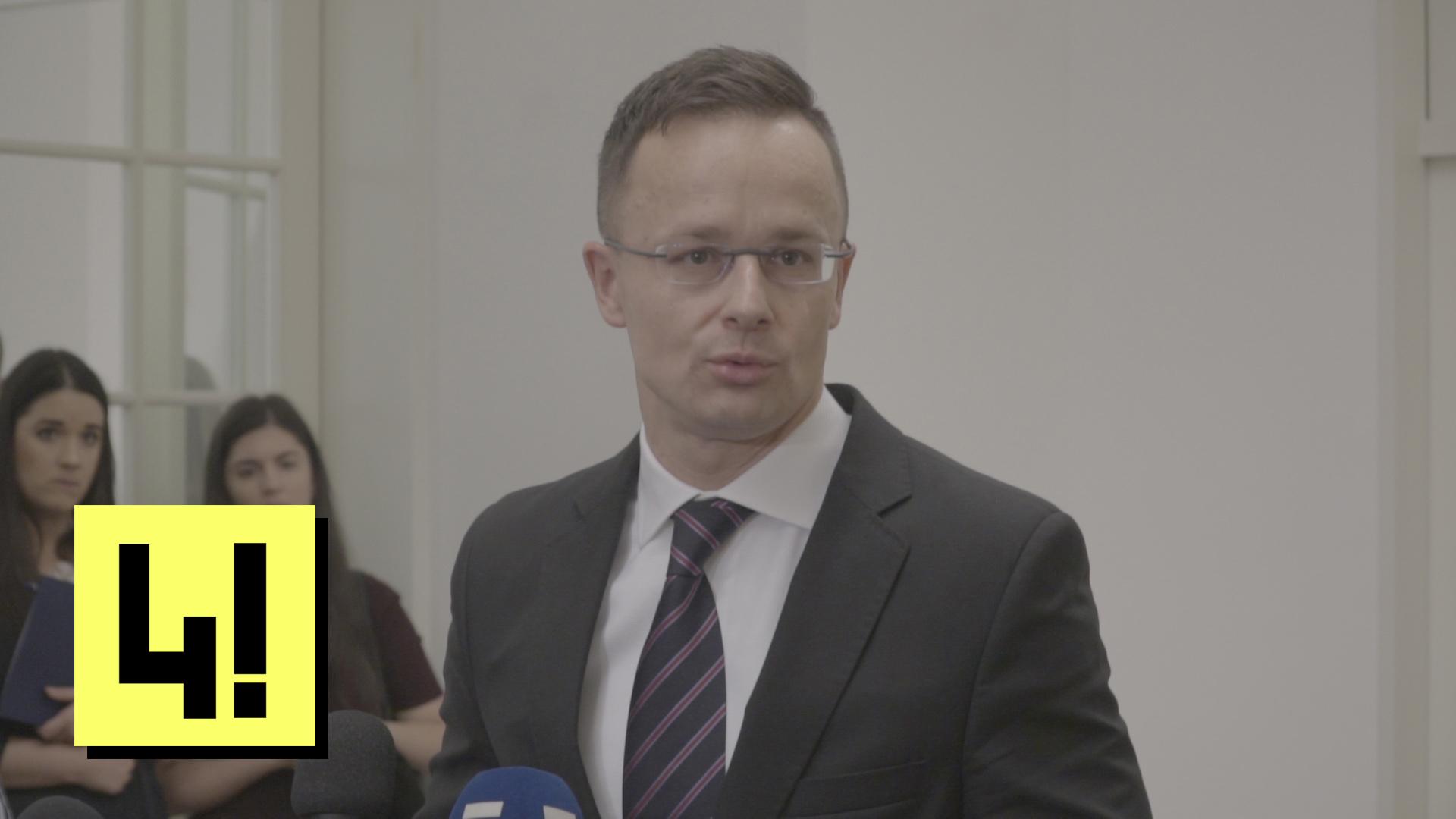 Szijjártó szerint semmi jelentősége, hogy Gruevszki magyar diplomaták autóival jött Magyarországra