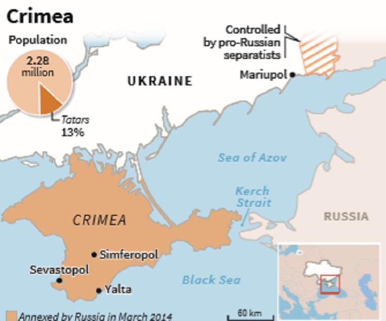 Az ukránok szerint Oroszország részlegesen feloldotta a kercsi blokádot