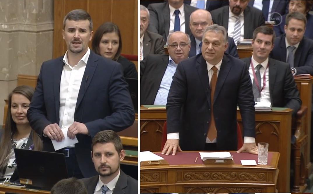 Lókupecnek nevezte Orbán Viktort a Jobbik képviselője, kizárták az ülésről